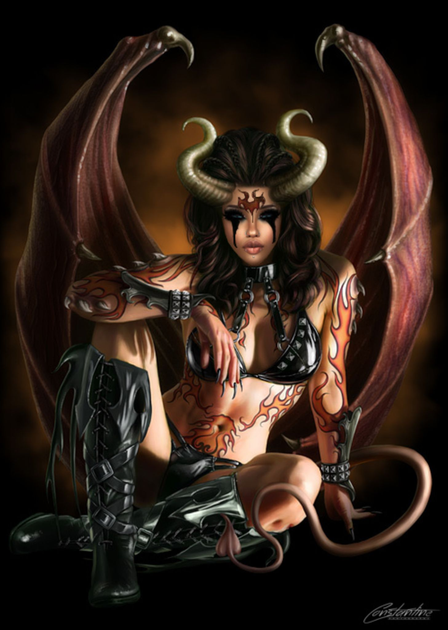 Lolly Horny Devil by Wrath Constantine
