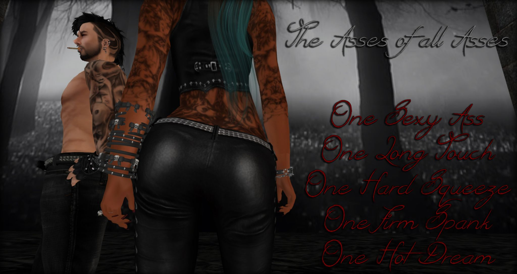 The Asses of all Asses by Wrath Constantine