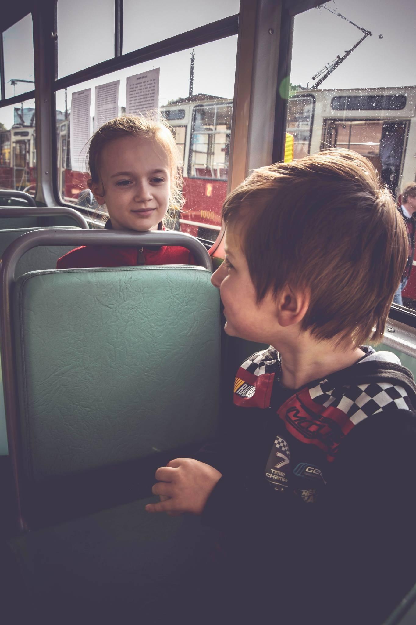 W tramwaju by Fotomalunki Kinga Kaim