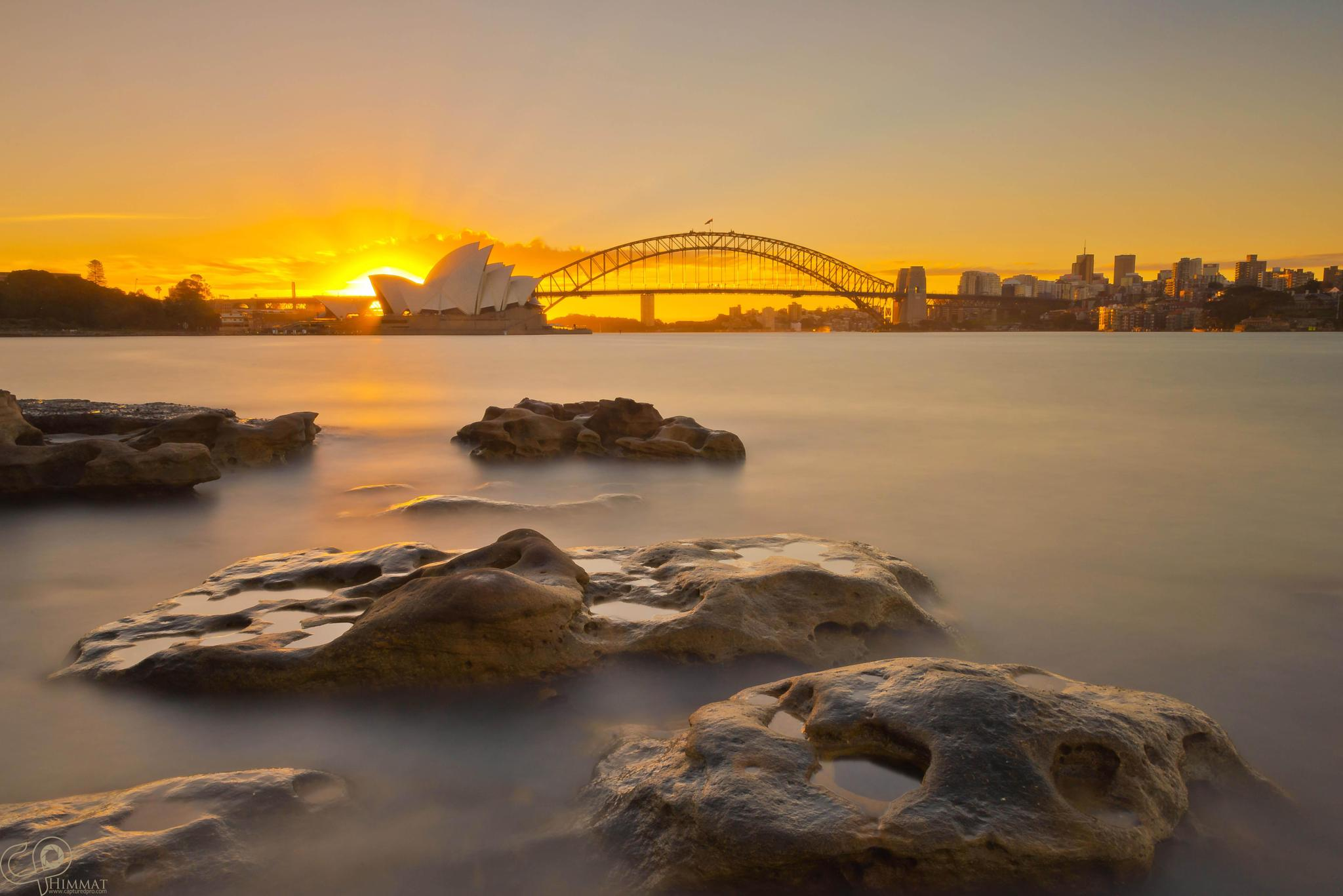 Larger version of Sydney Harbour  by CapturedPro Photography