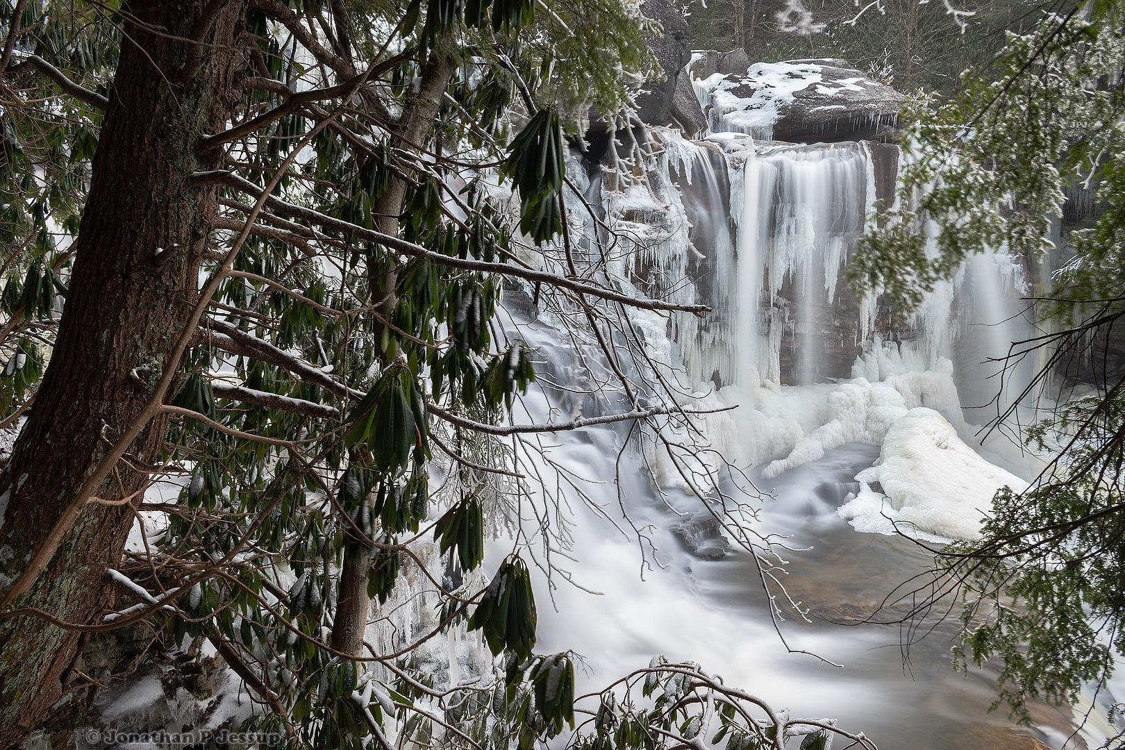 Roaring Waterfalls by Jonathan P Jessup