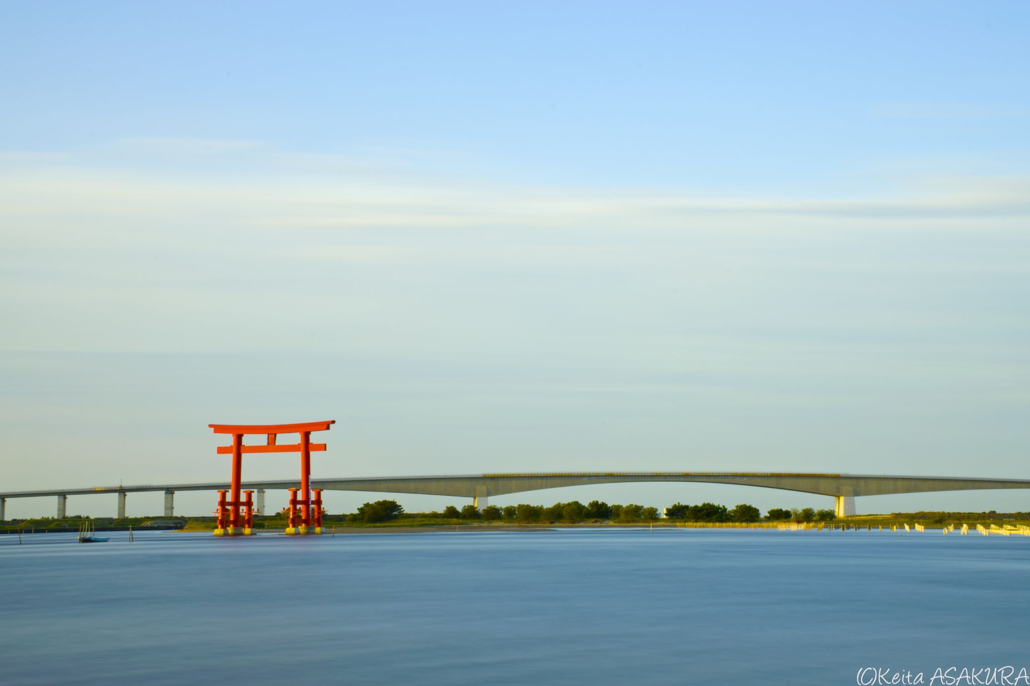 an early morning by Keita Asakura