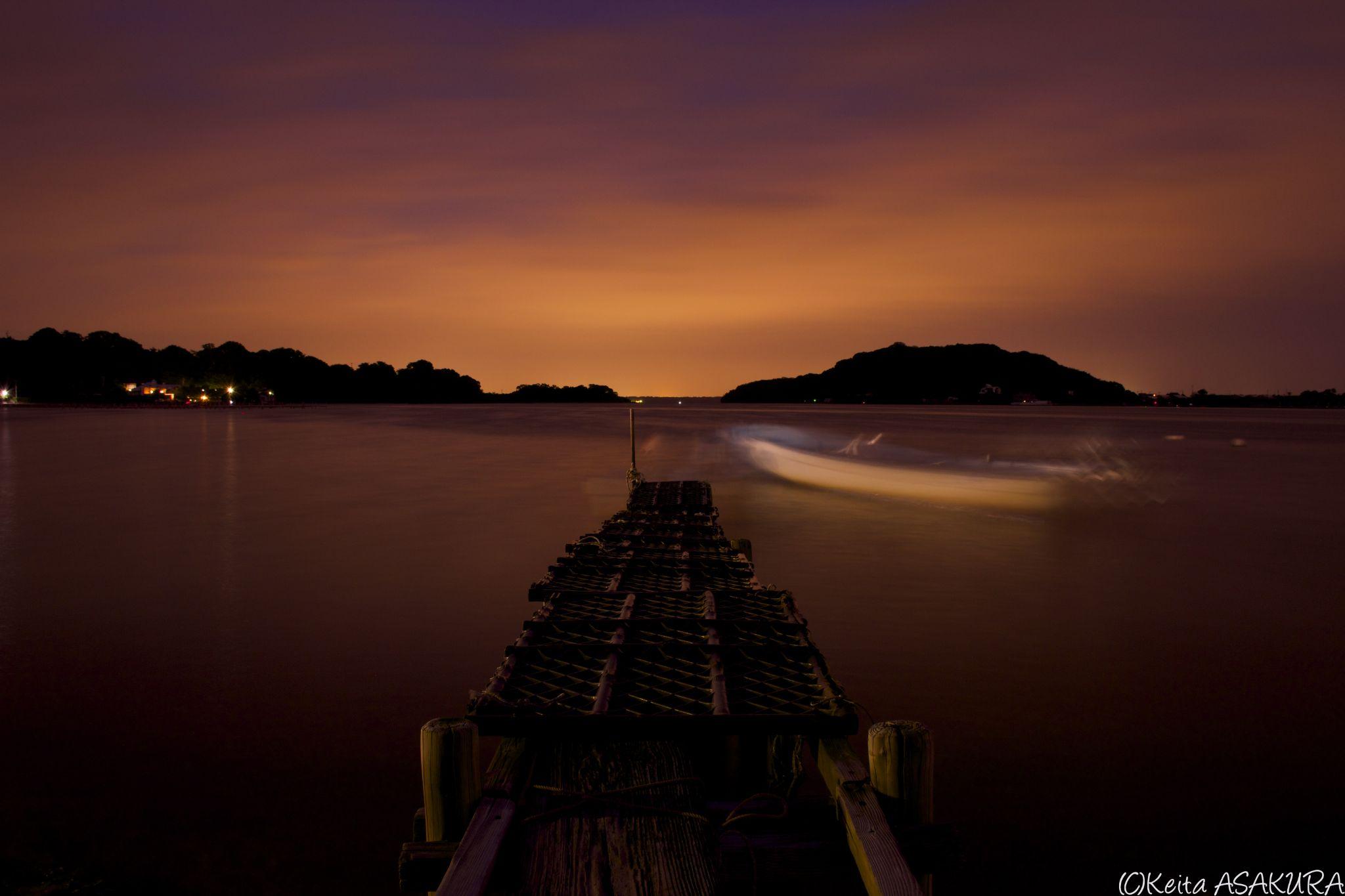 sunset by Keita Asakura