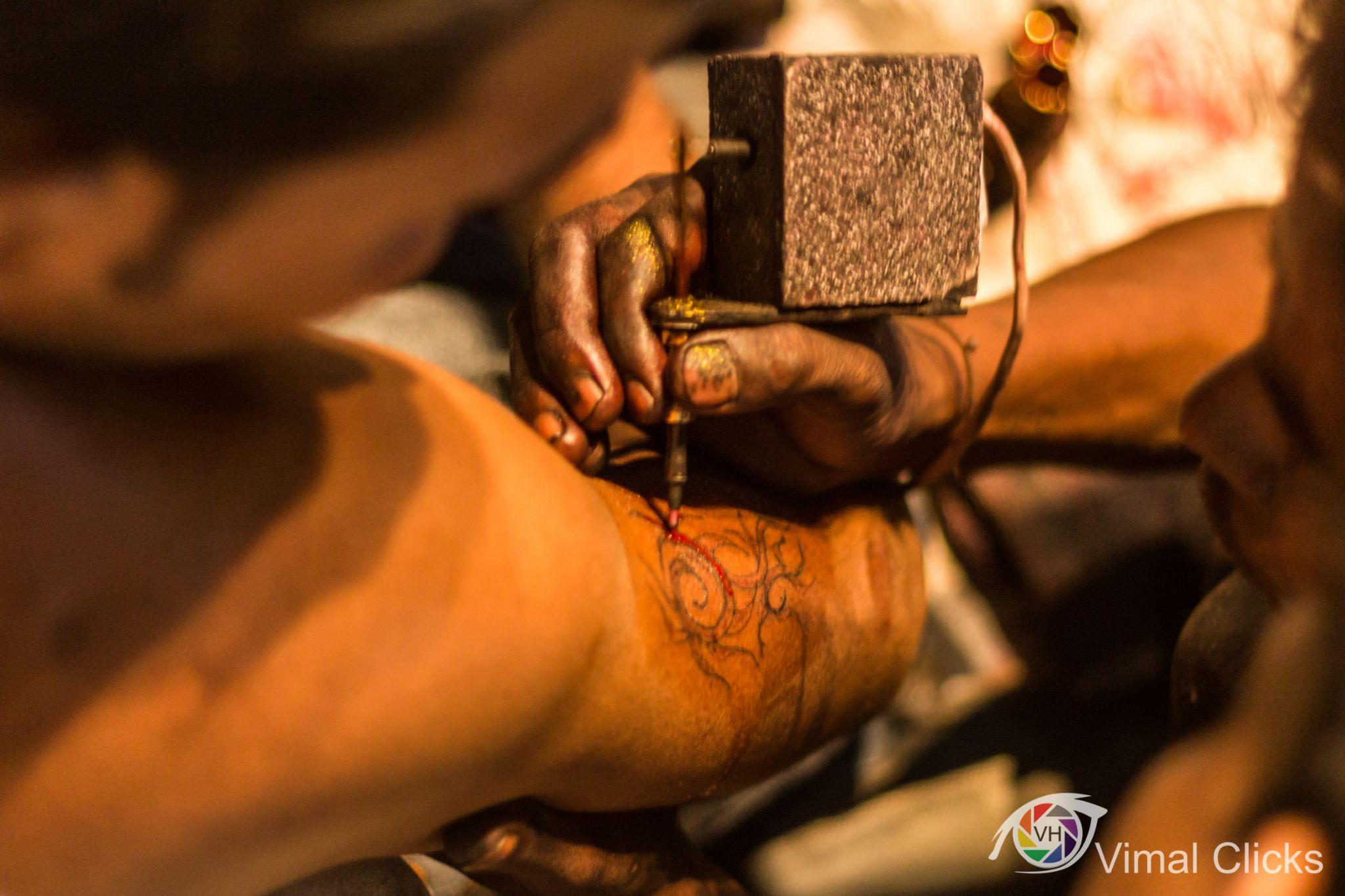 Tattoo by Vimal Hemani