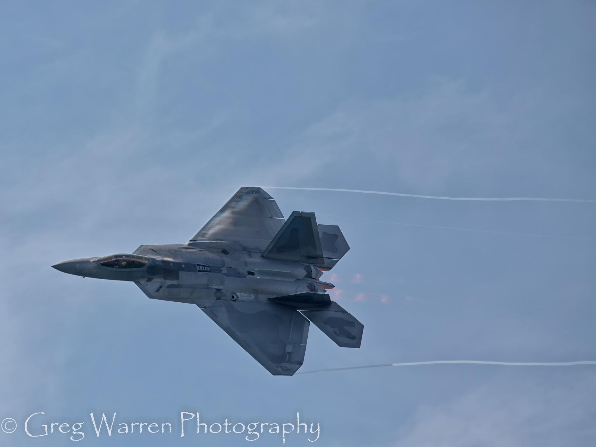 F-22 Raptor by Greg Warren