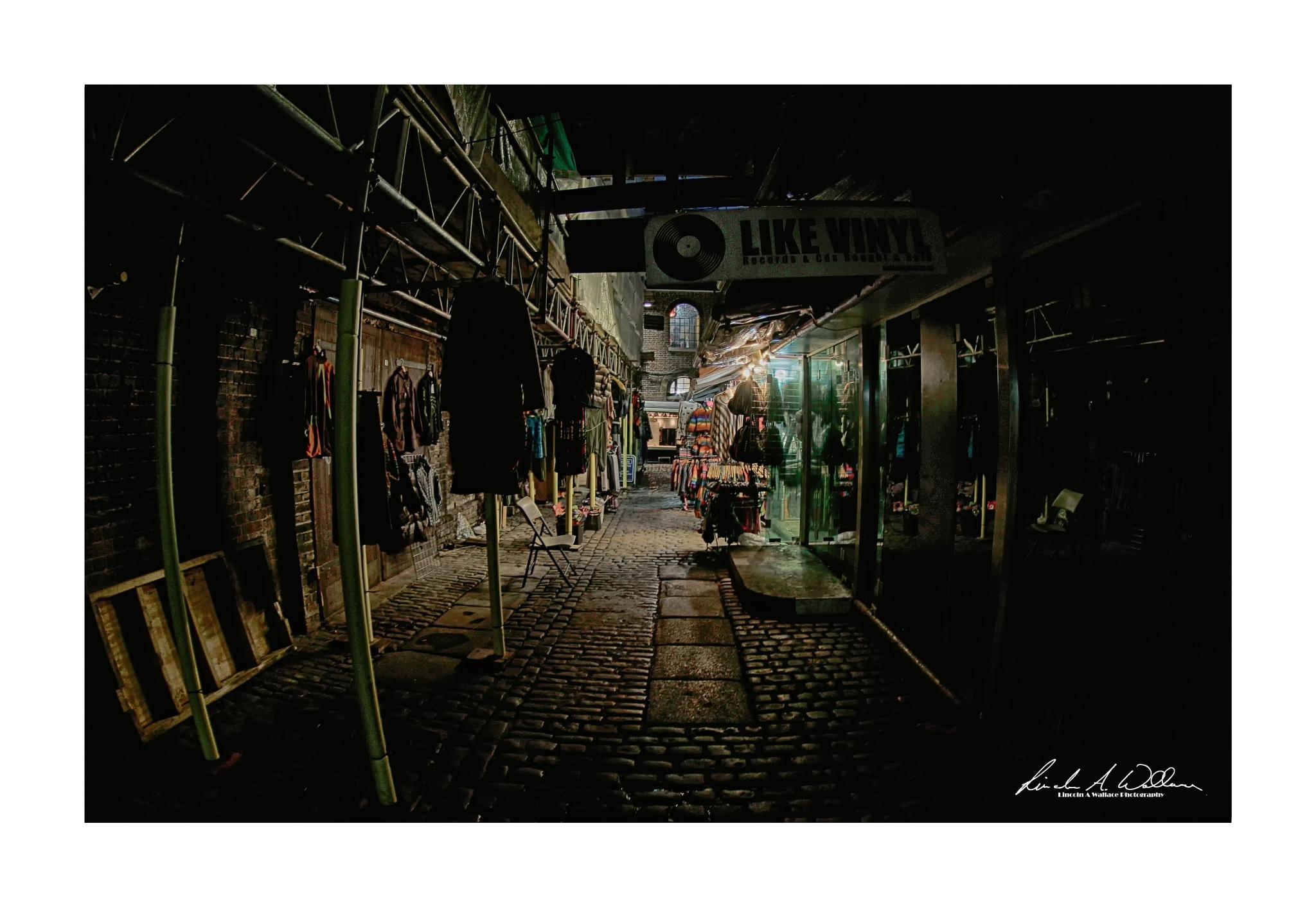 Camden Market Colour by Lincoln A Wallace