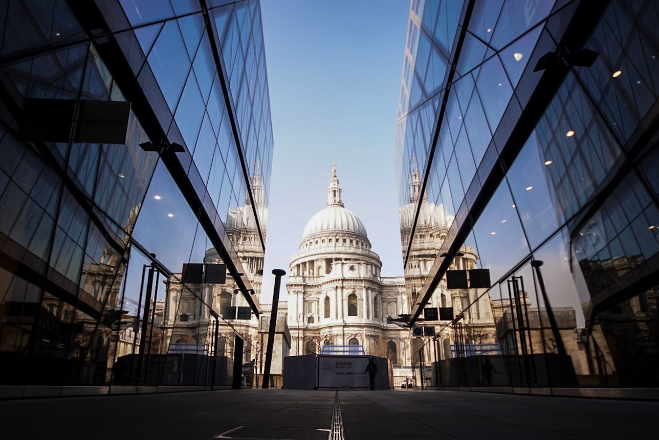 London reflections by David