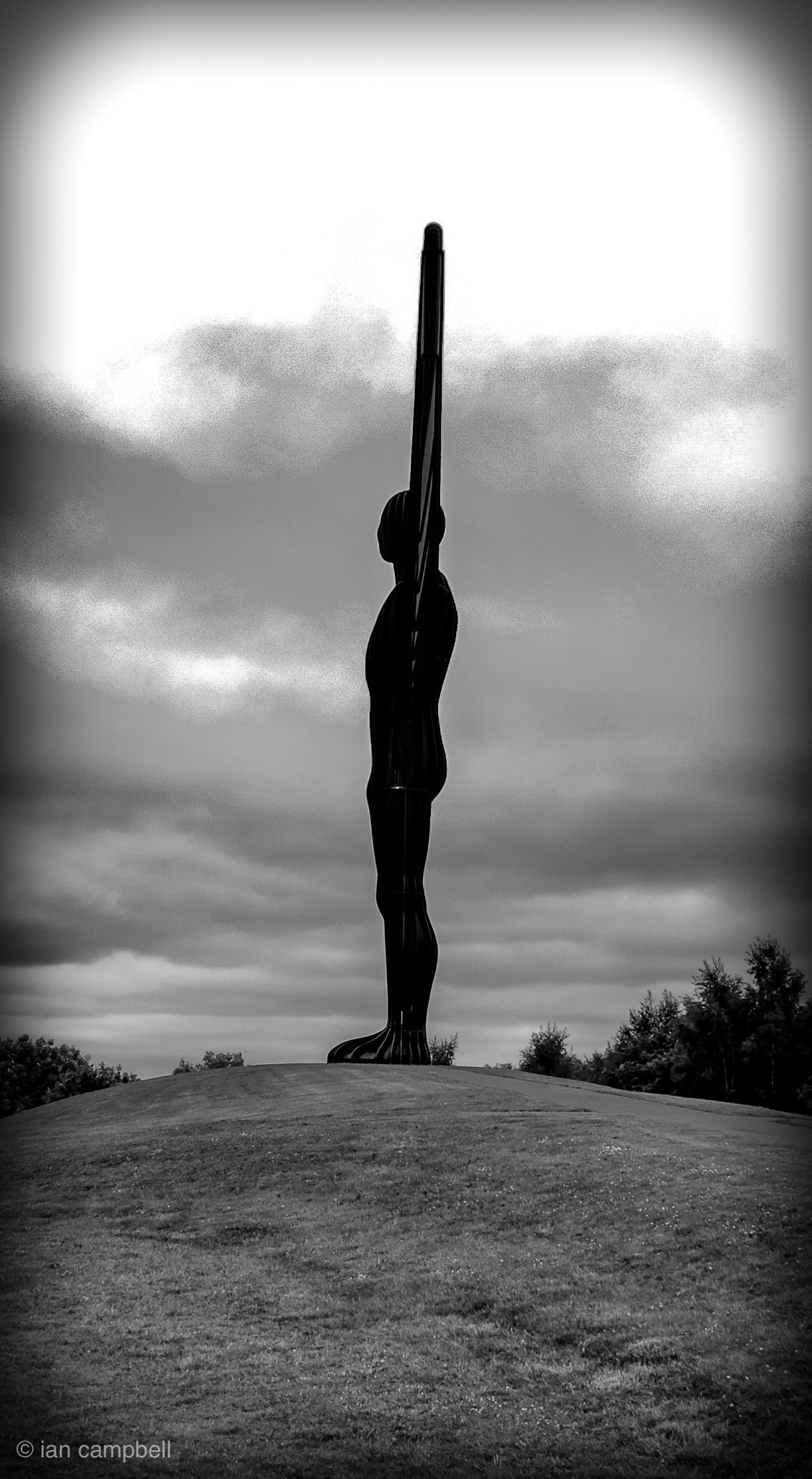 Angel of the North by Ian Campbell