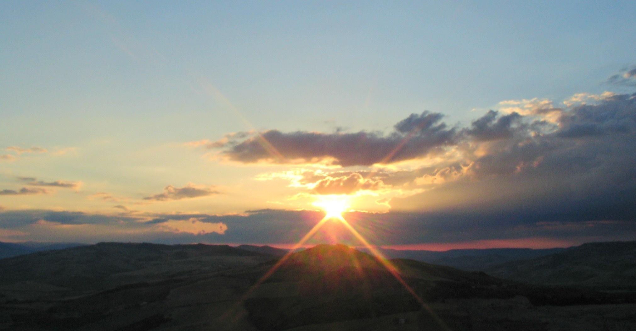 sunset by Luigi Stefanini