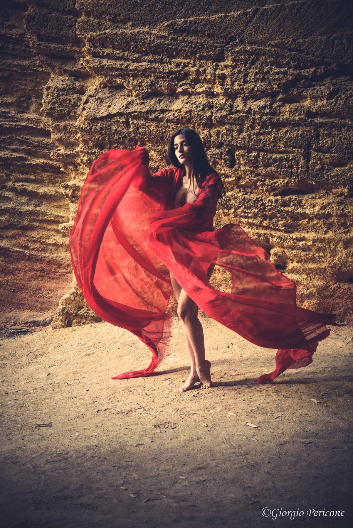 The red veil 2 by Giorgio Pericone