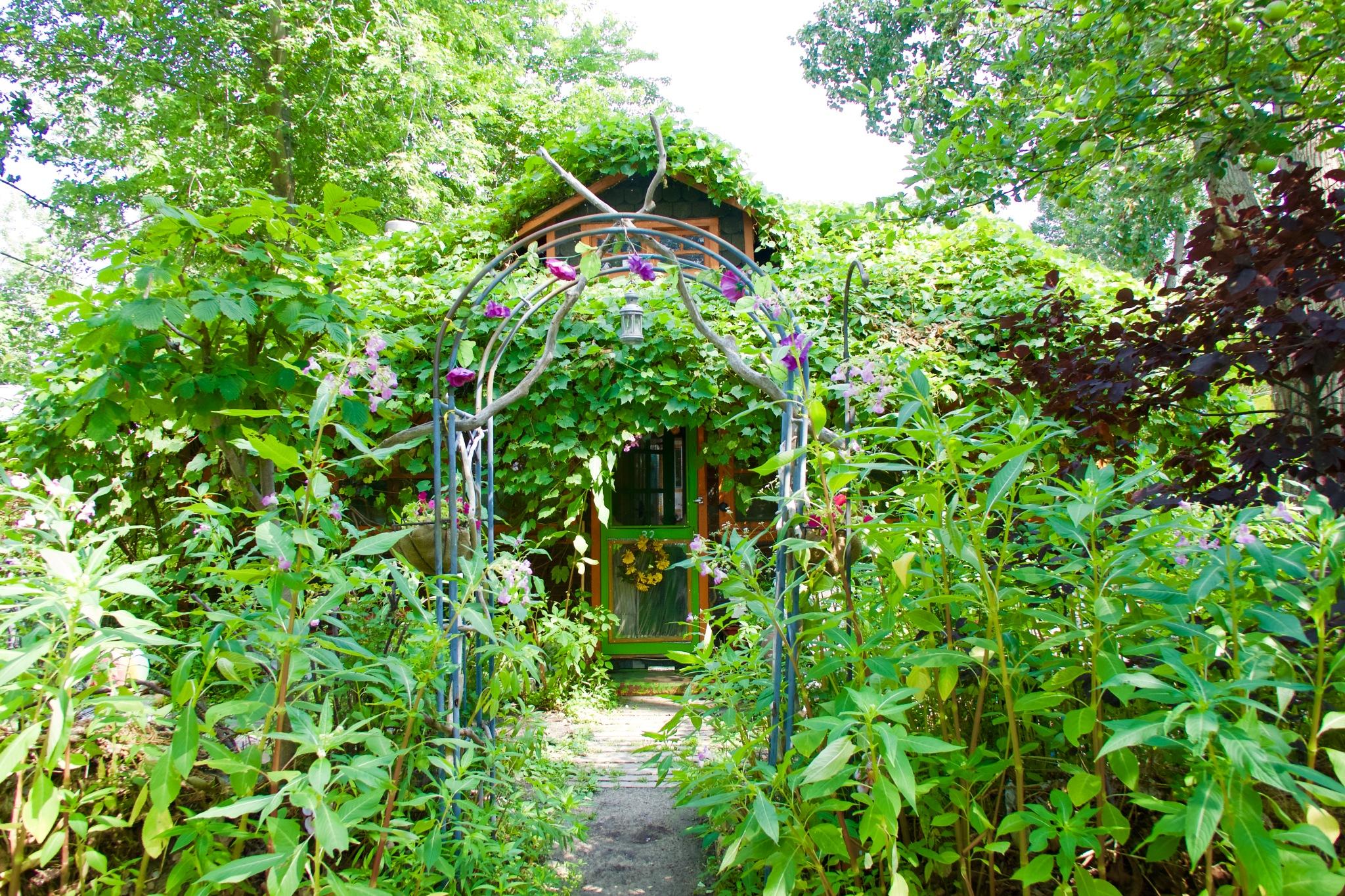 Magic Island Garden by Karen Bekker