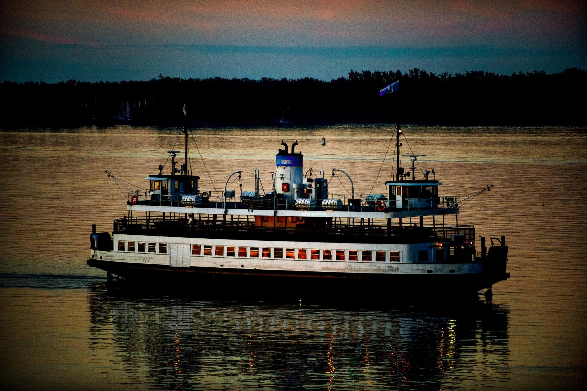 Toronto Ferry by Karen Bekker