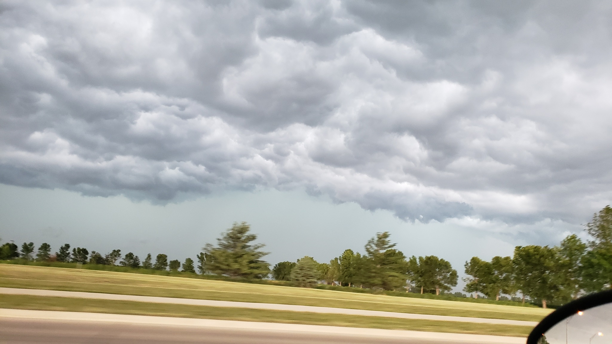 Stormy clouds by Amanda Epting