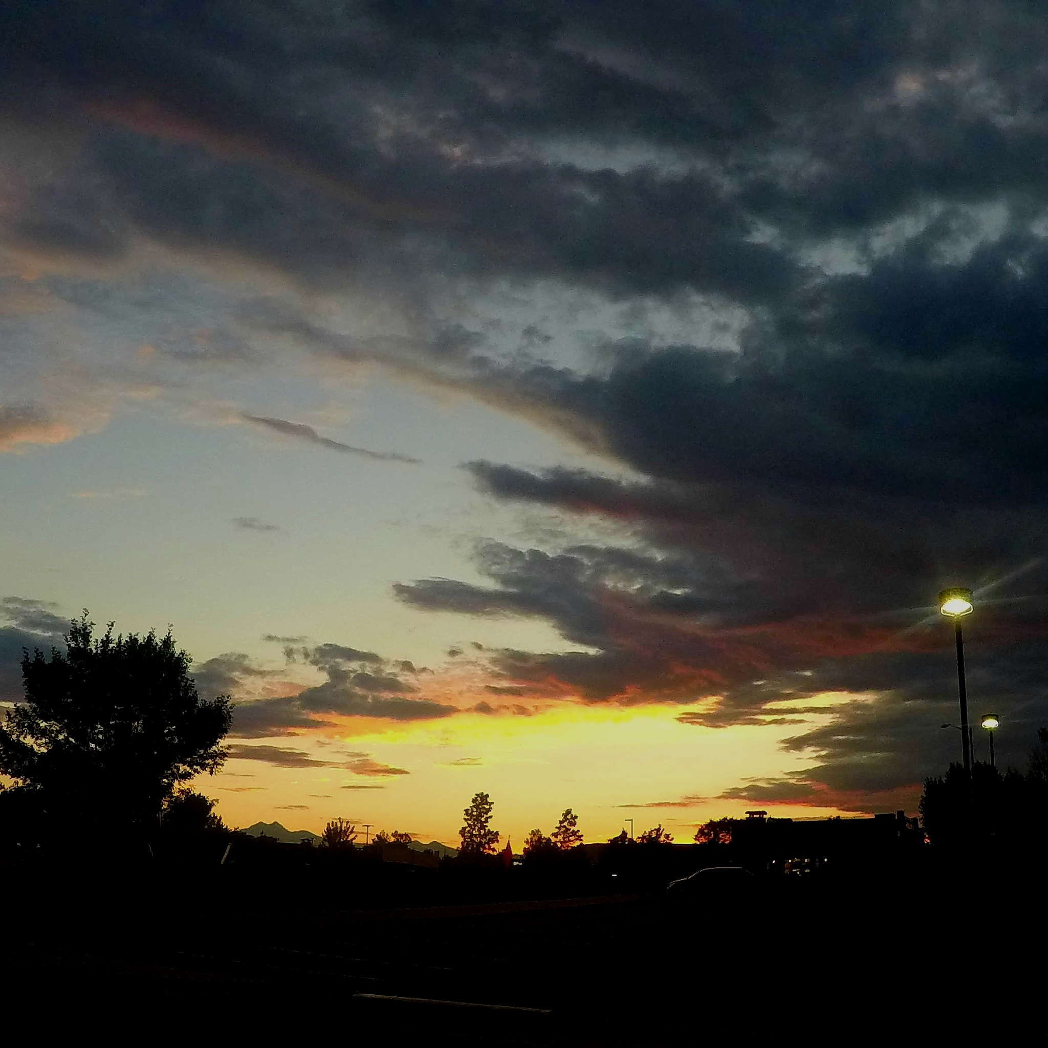 Sunset  by Gerry Kraaijenbrink