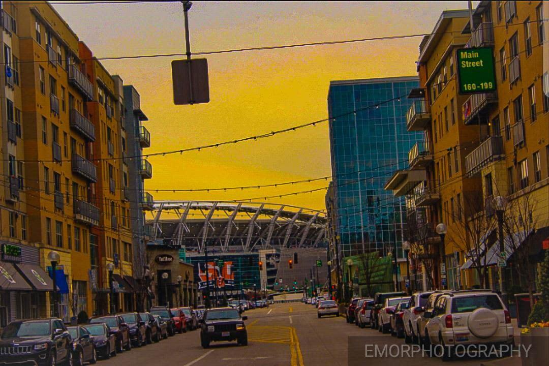 Bengals Stadium  by emorphotography