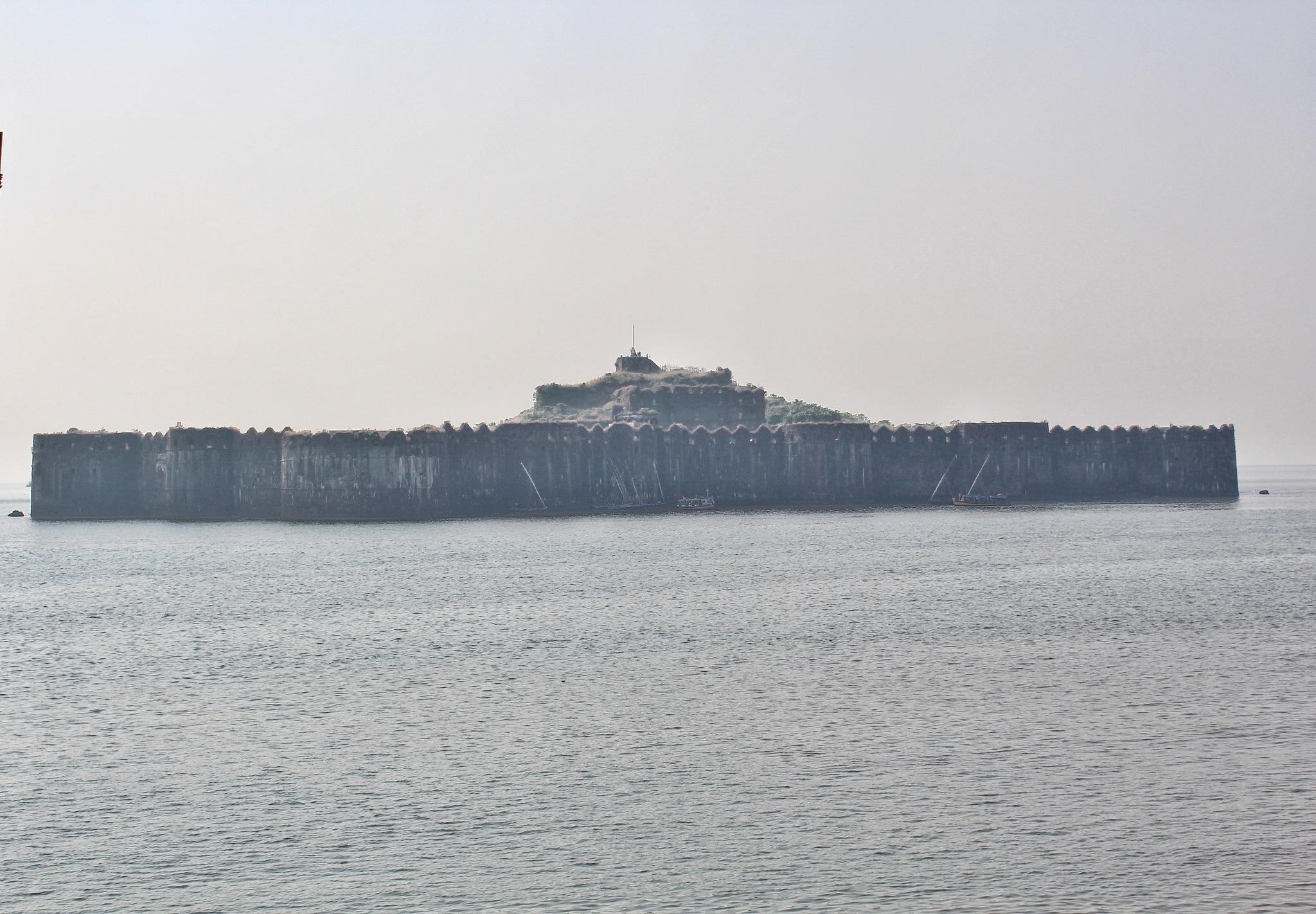 underwater fort by Kishor_Shivaji