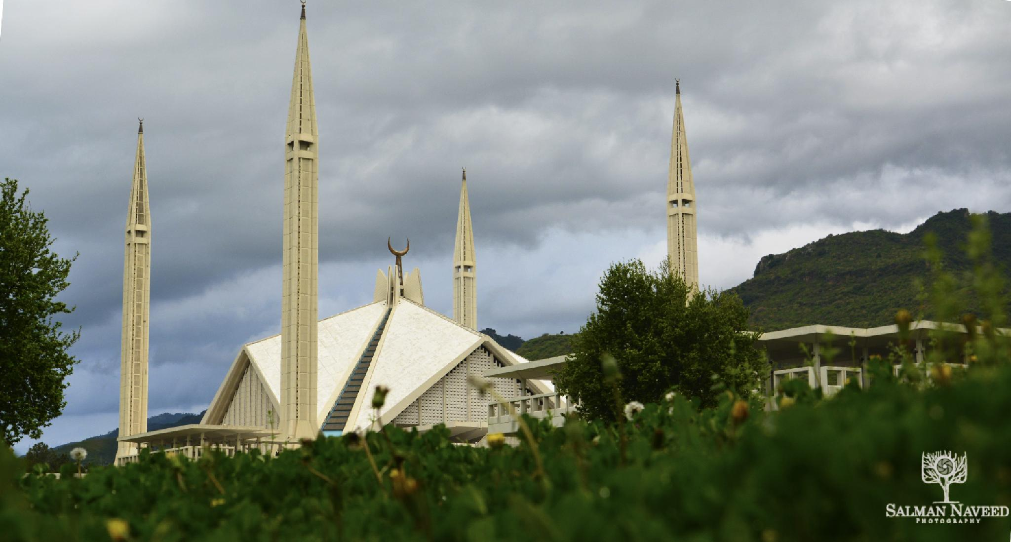 Faisal Mosque by Salman Naveed