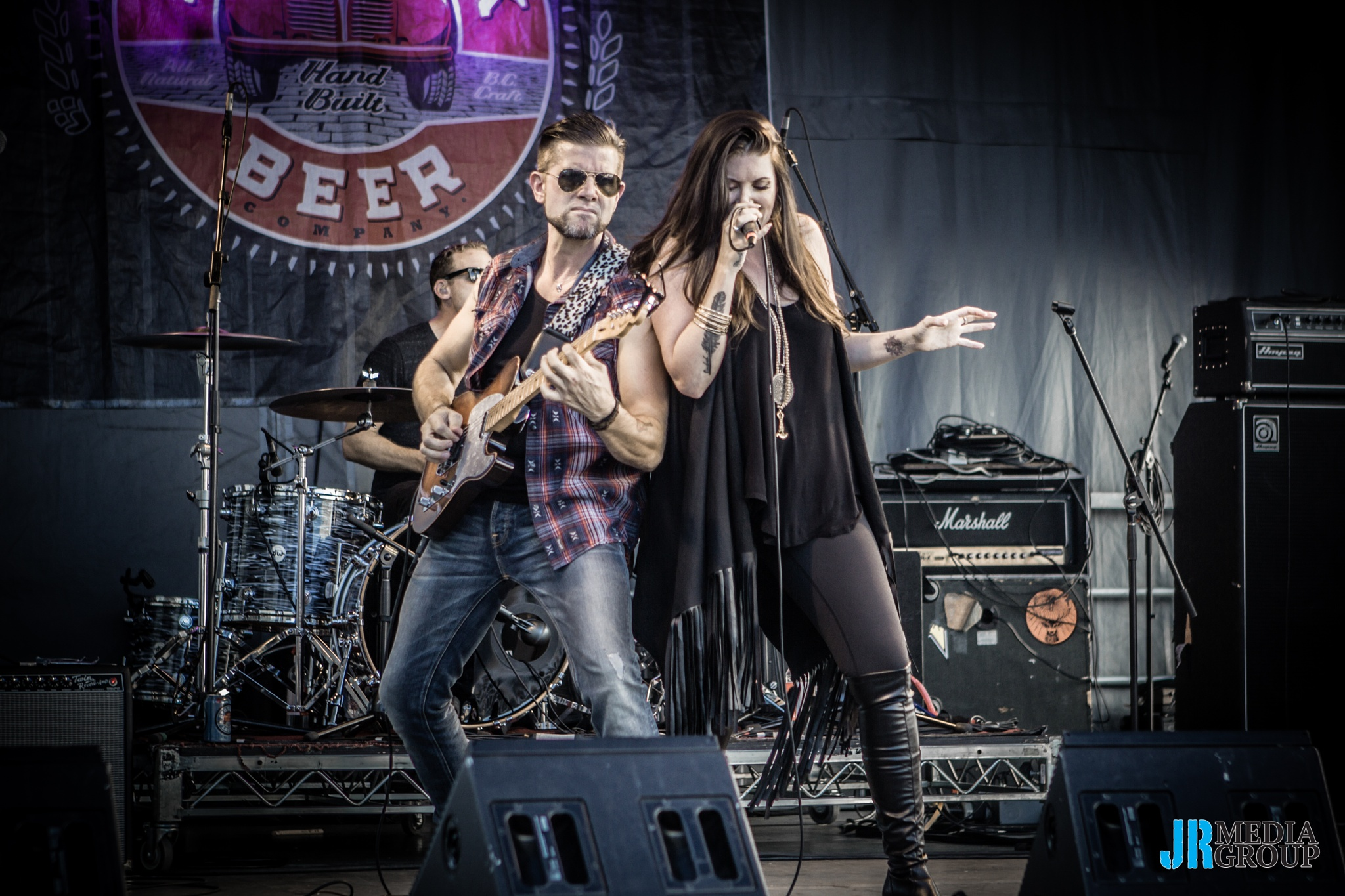 Photo in Concert #country #beer festival #red truck #brewery #event photography