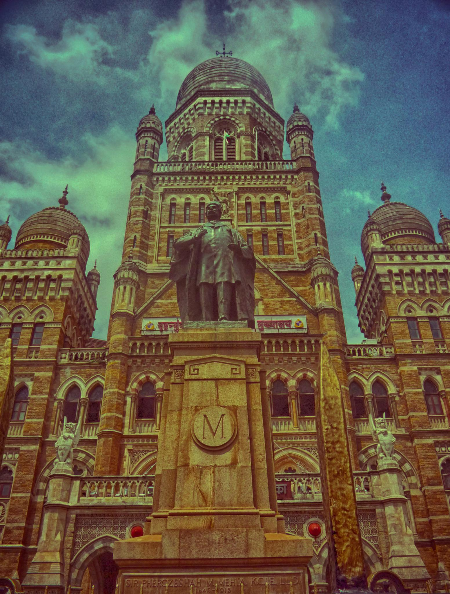 Historical Building Mumbai City by Frank Richard