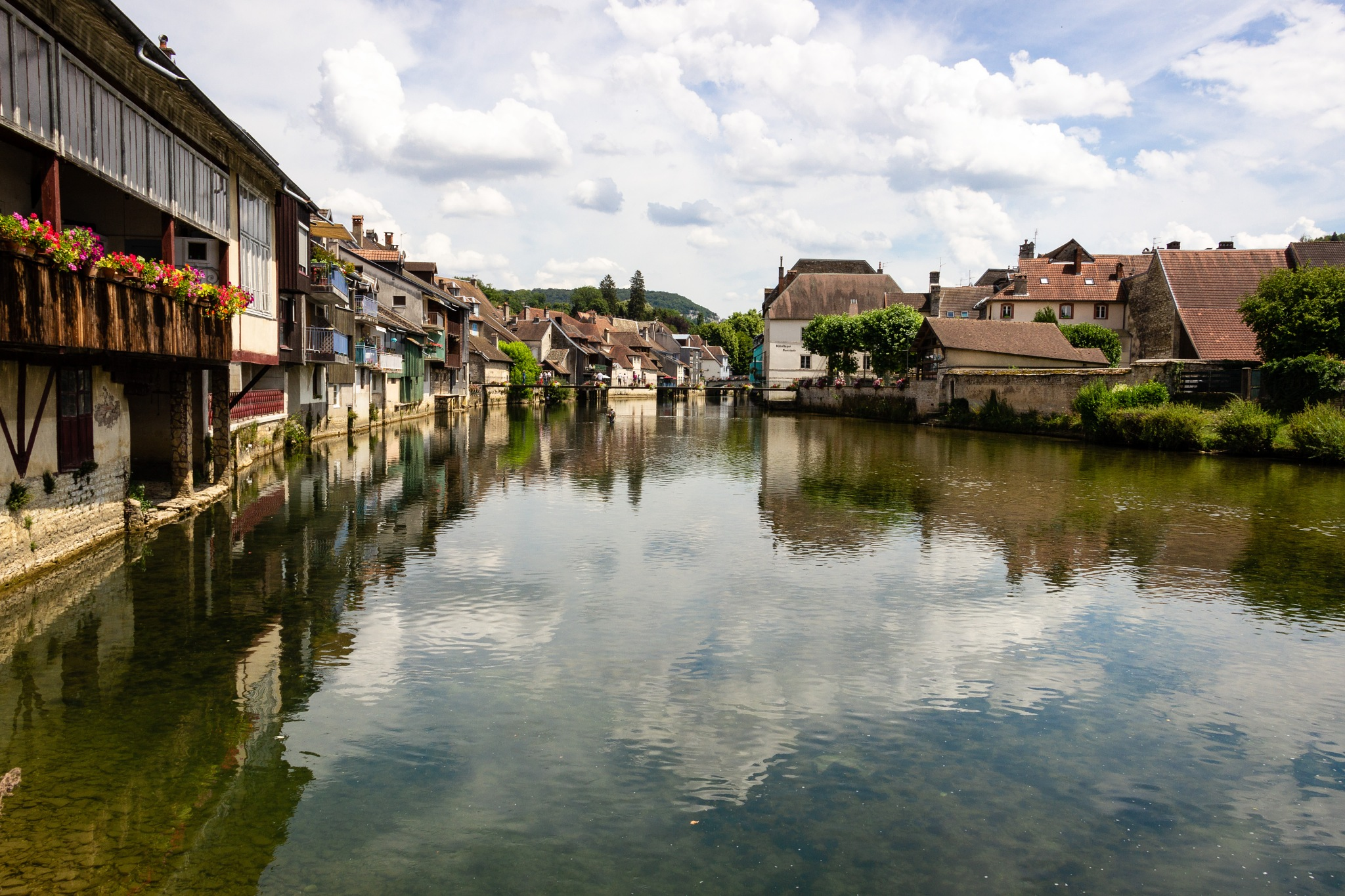 La Loue à Ornans by Vanaerde