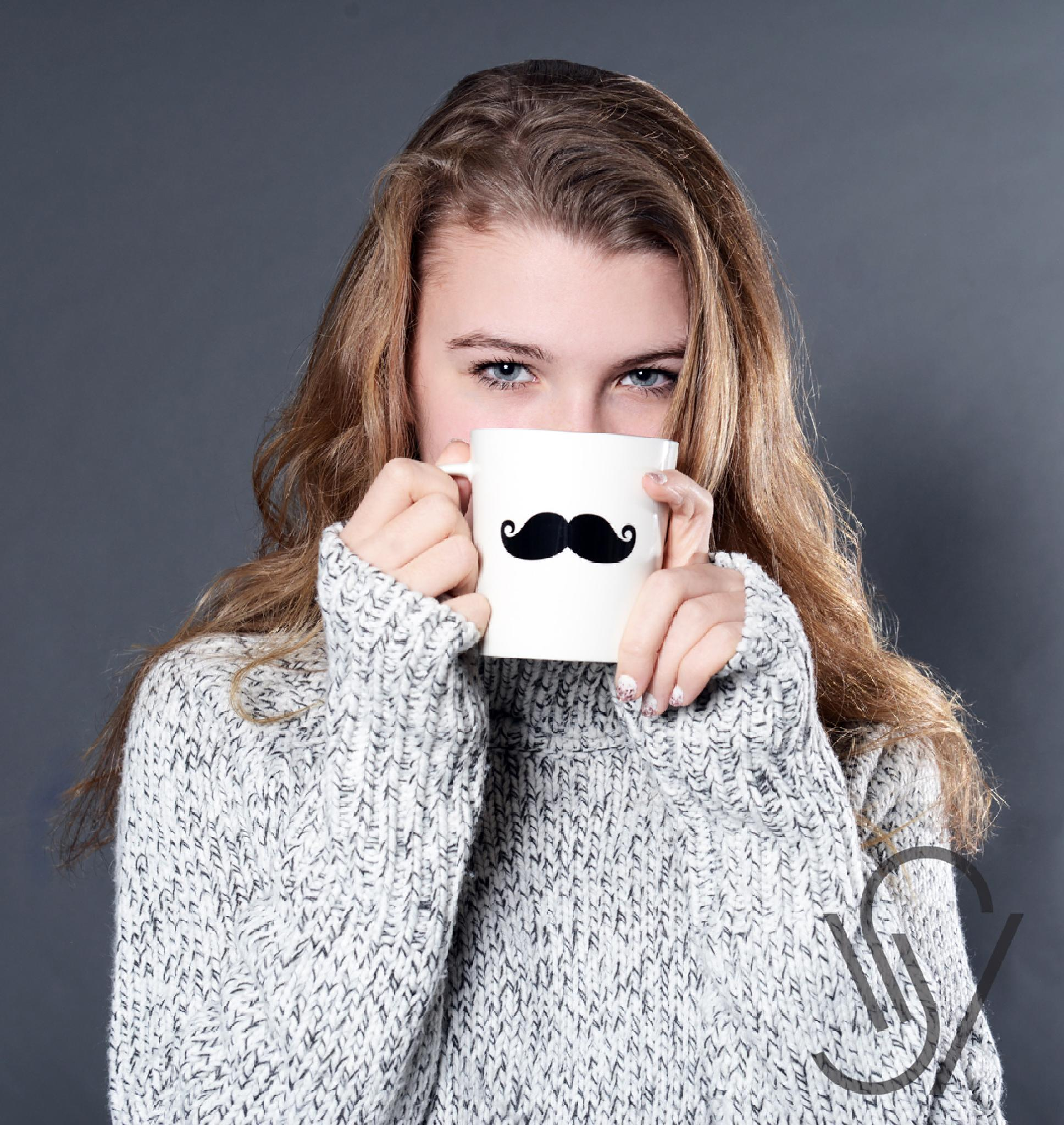 Coffee Mustache by Vibeke