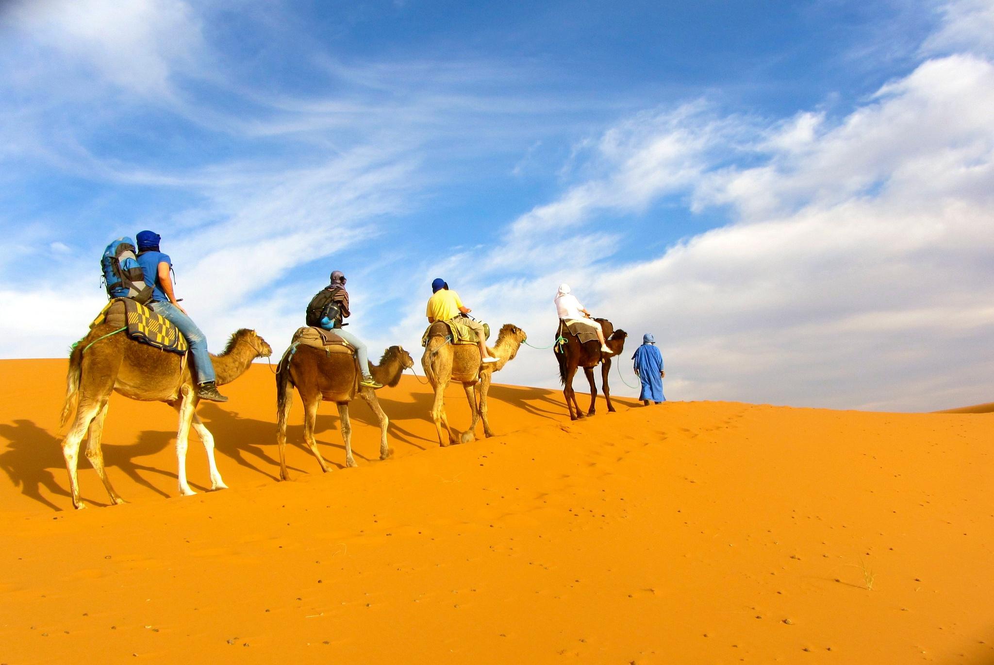 Desert de Merzouga by Patricia B Photograf'euse