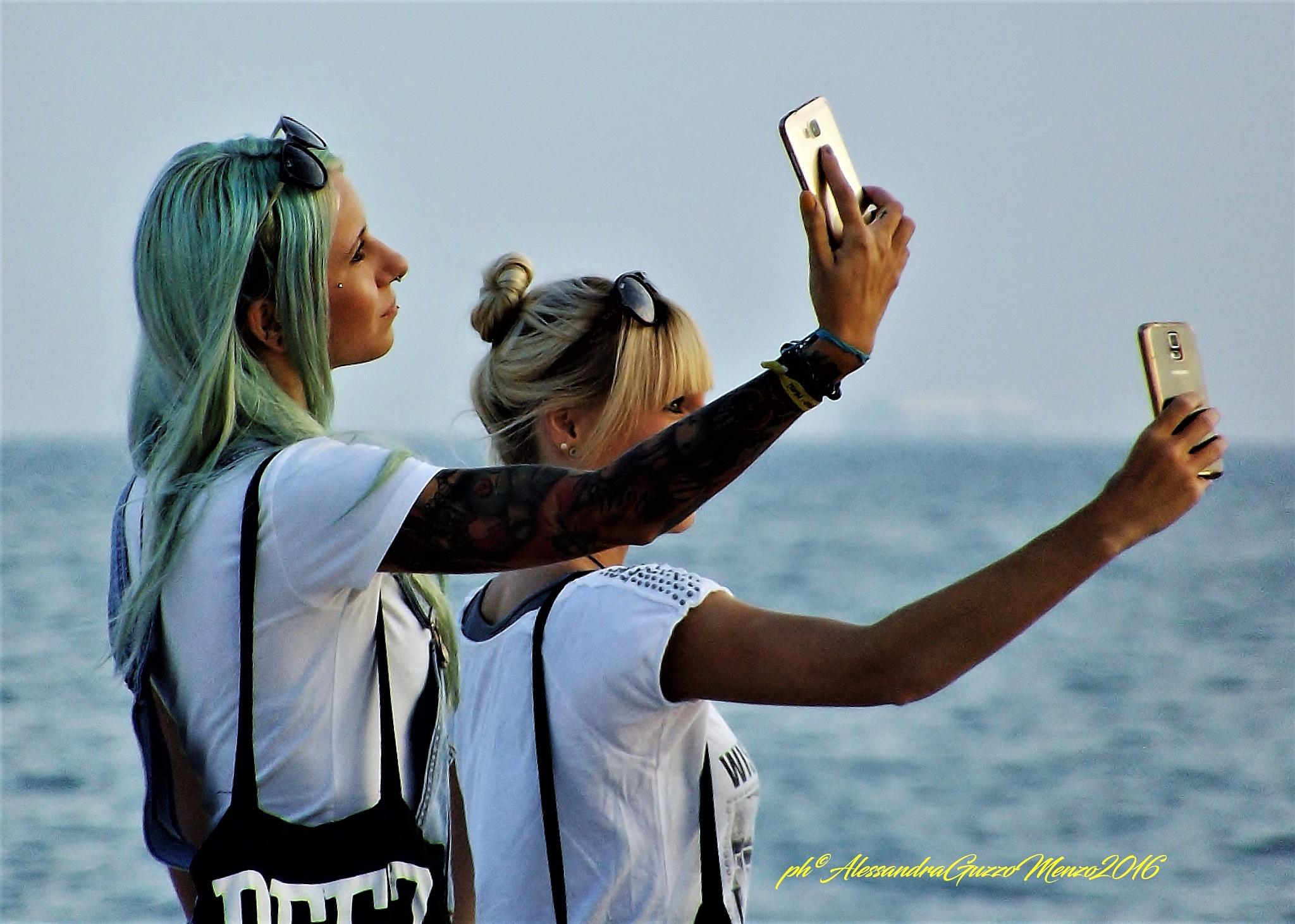 selfie by Alessandra Guzzo Menzo
