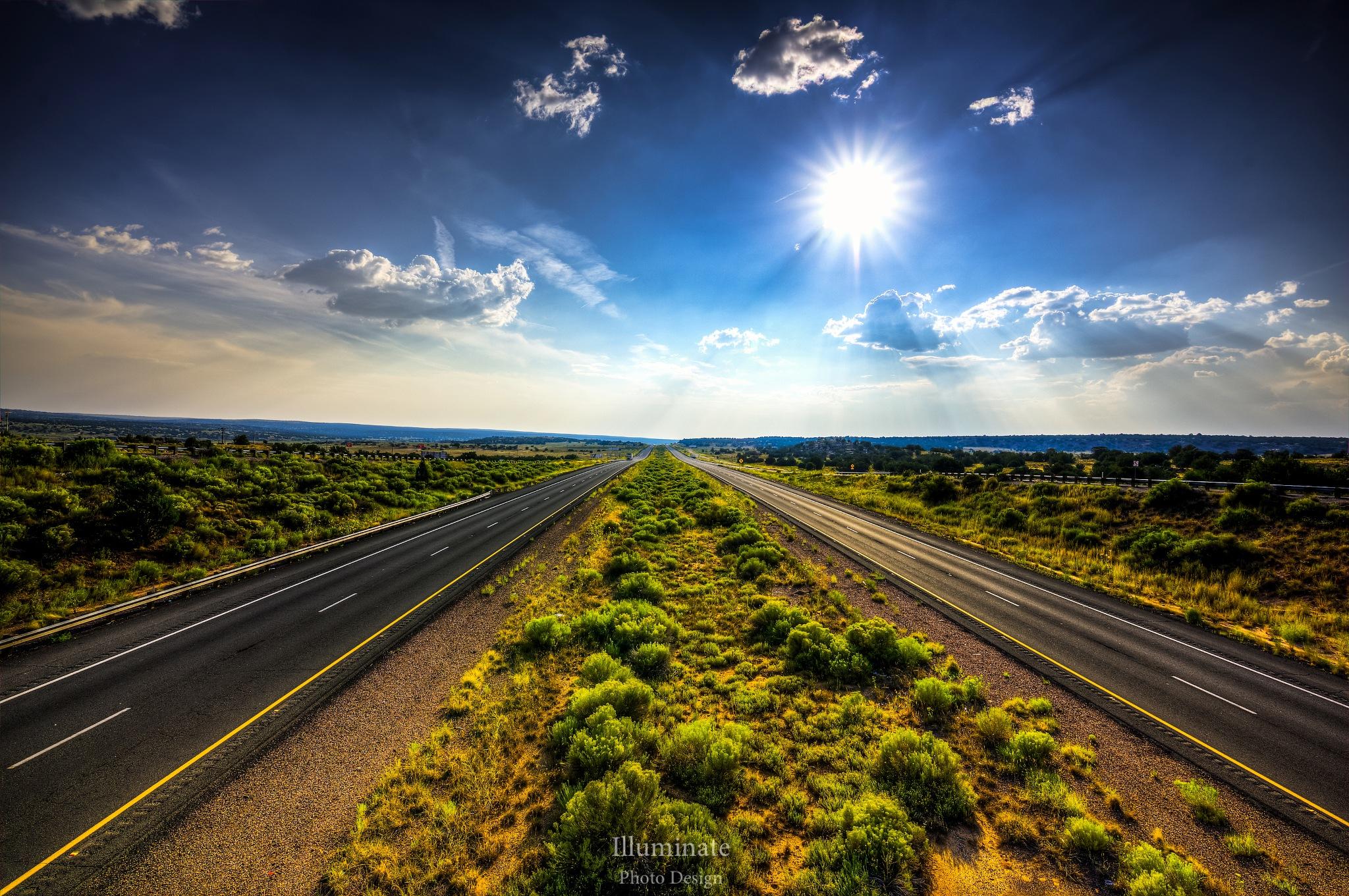 Arizona Overpass by Brad Arnold
