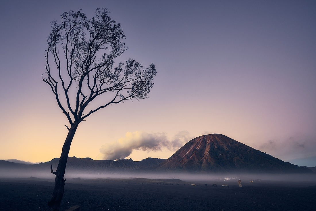 Morning of Bromo Volcano by Andy Rahardian Akbar