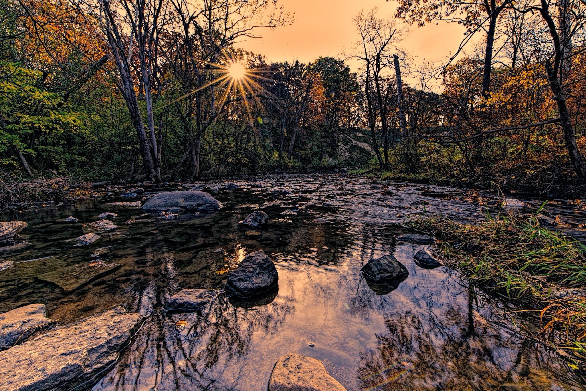 Sunrise Serenity by David Neesley