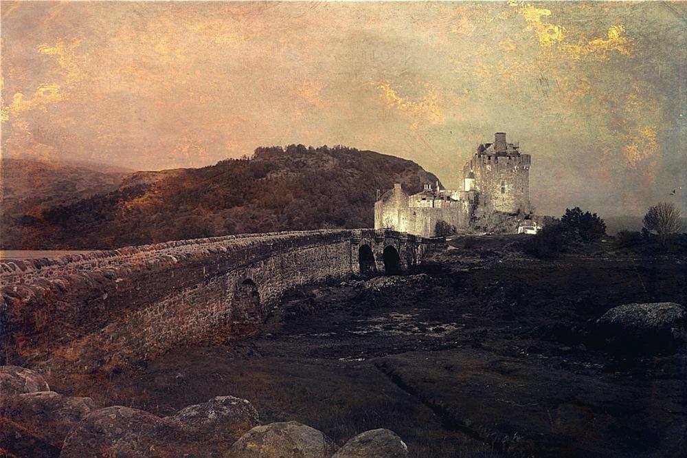 Eilan Donan Castle Scotland by Beata Pogoda