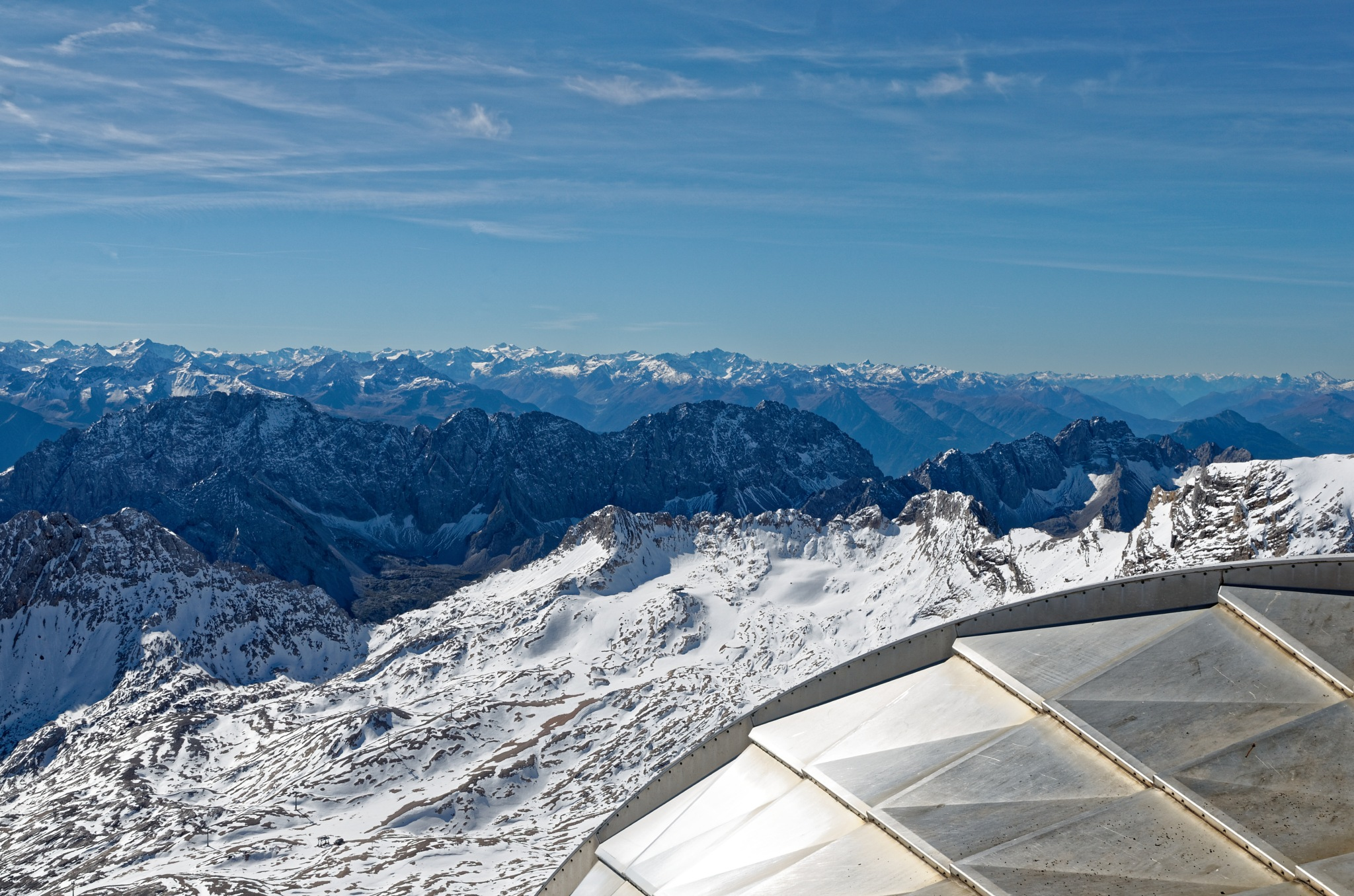 view from Zugspitze by upletsch