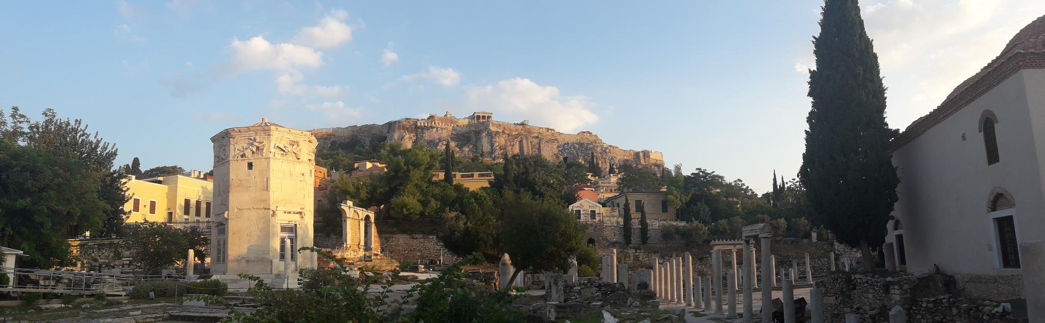 Athens Acropolis Greece  by Georgia Mel