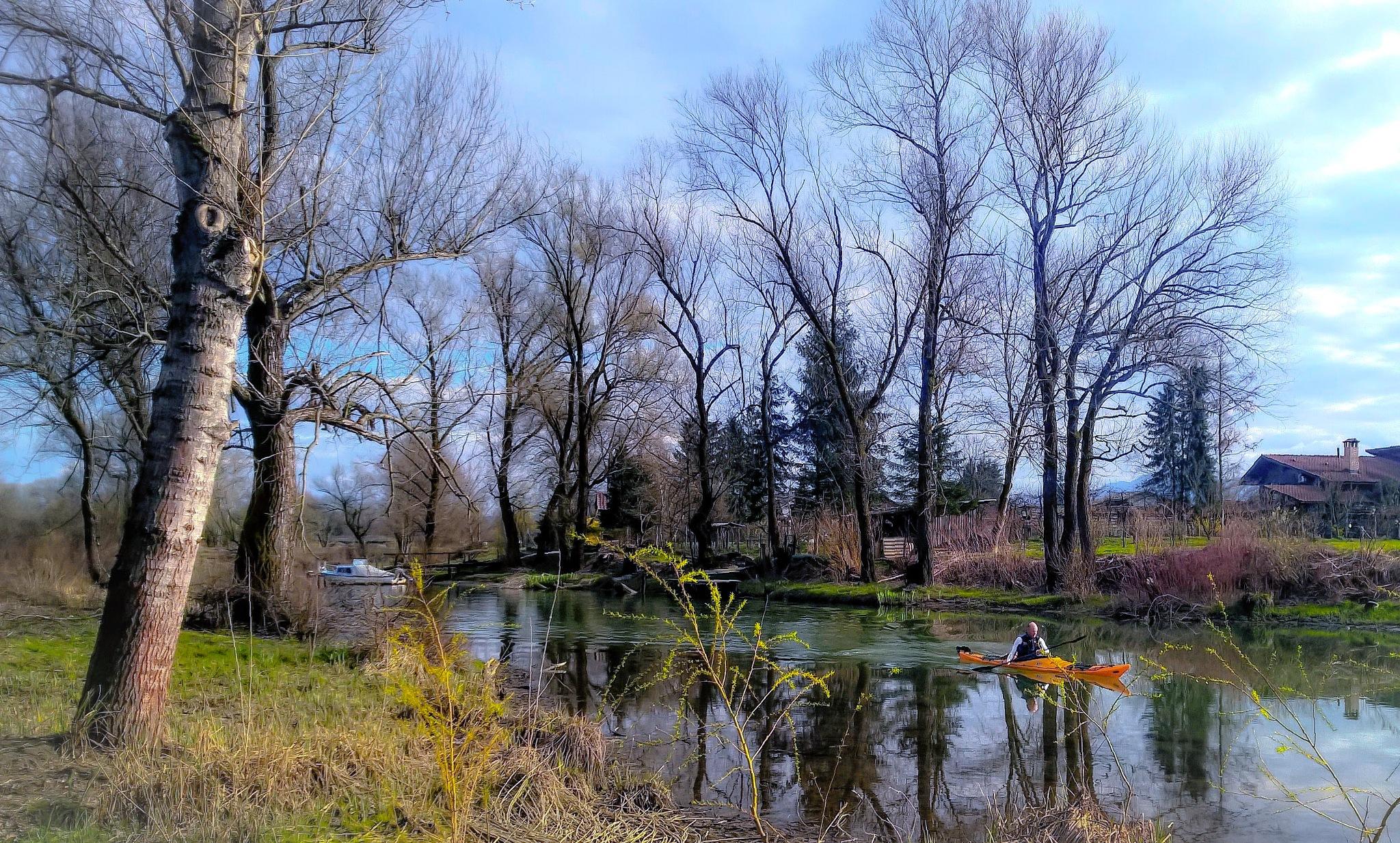 Kayaking  by Alexander