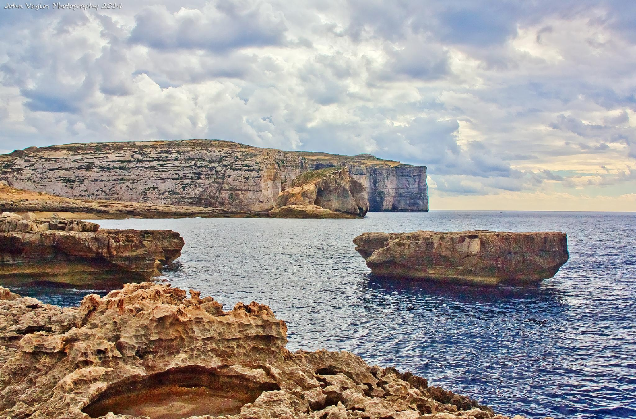 Gozo : Blue window by JohnVagios
