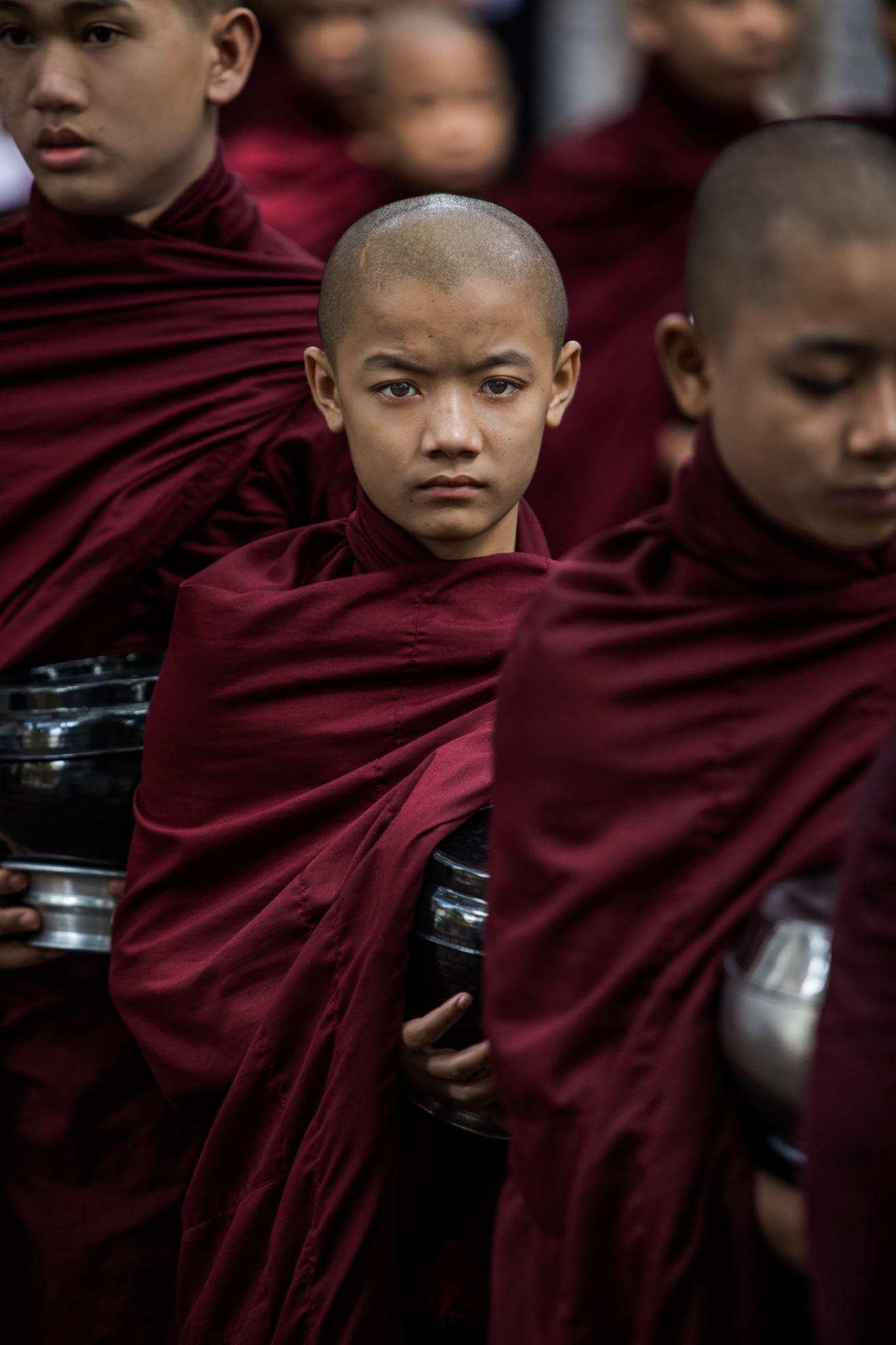 Monk's Procession by David Elliott