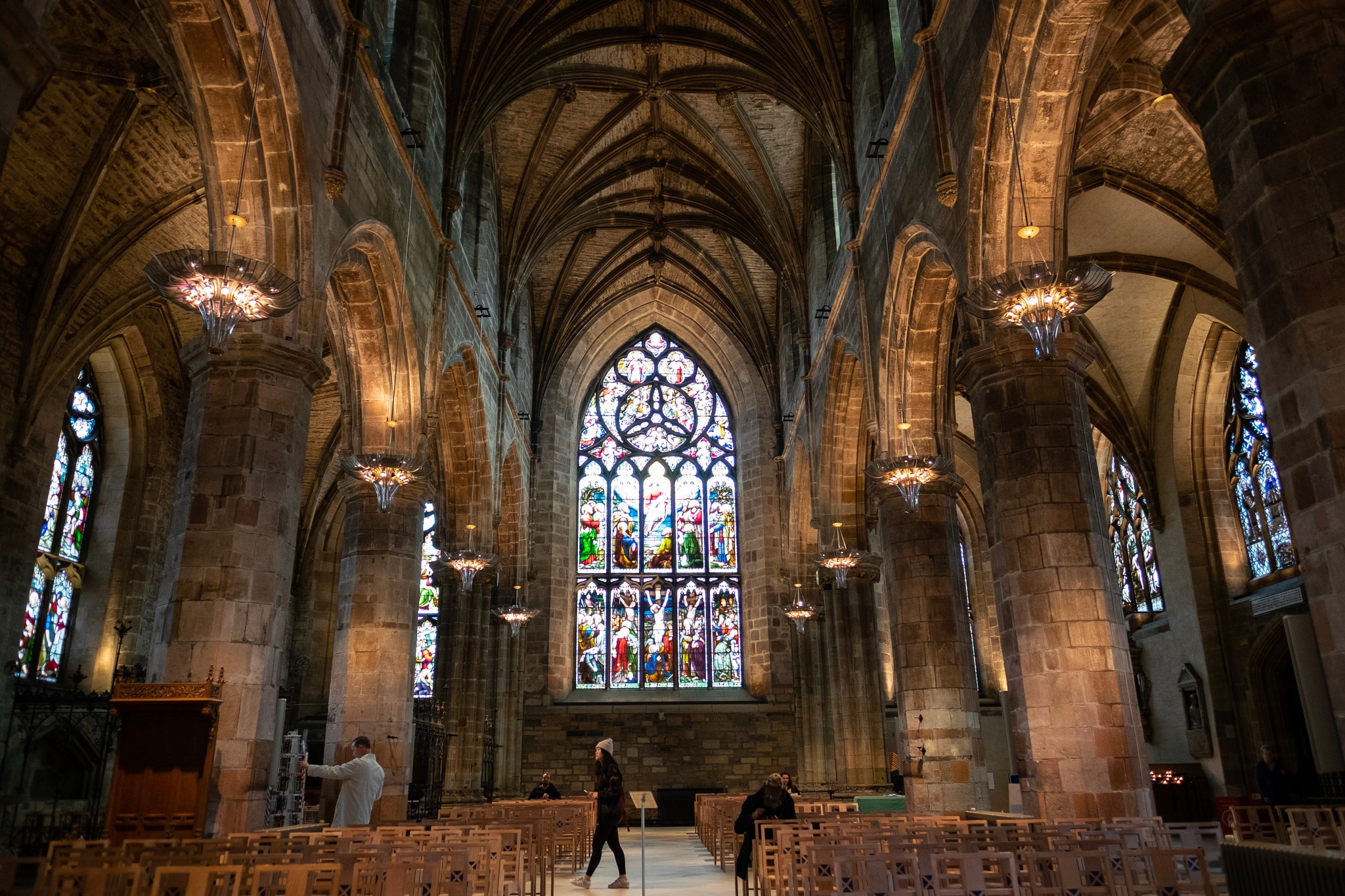 St Giles's Cathedral  by Viviane Mazin