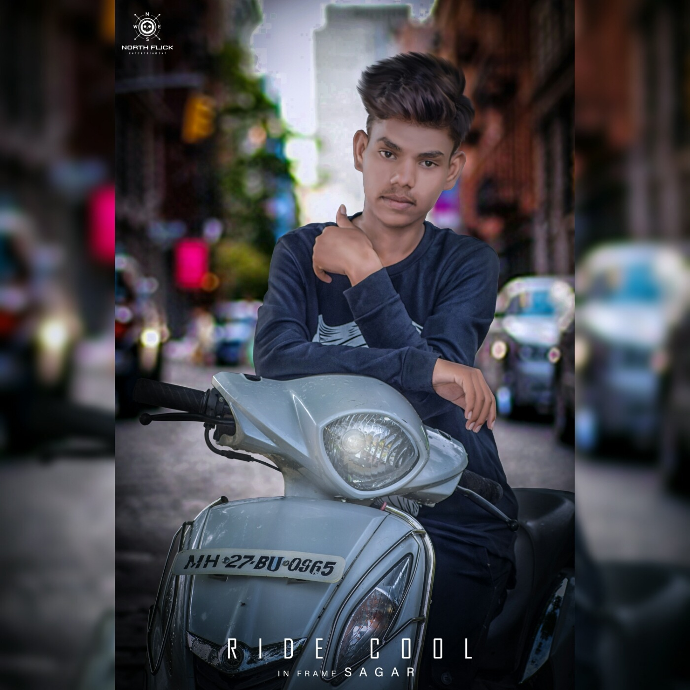 Ride Cool, Play Cool..!!  by North Flick