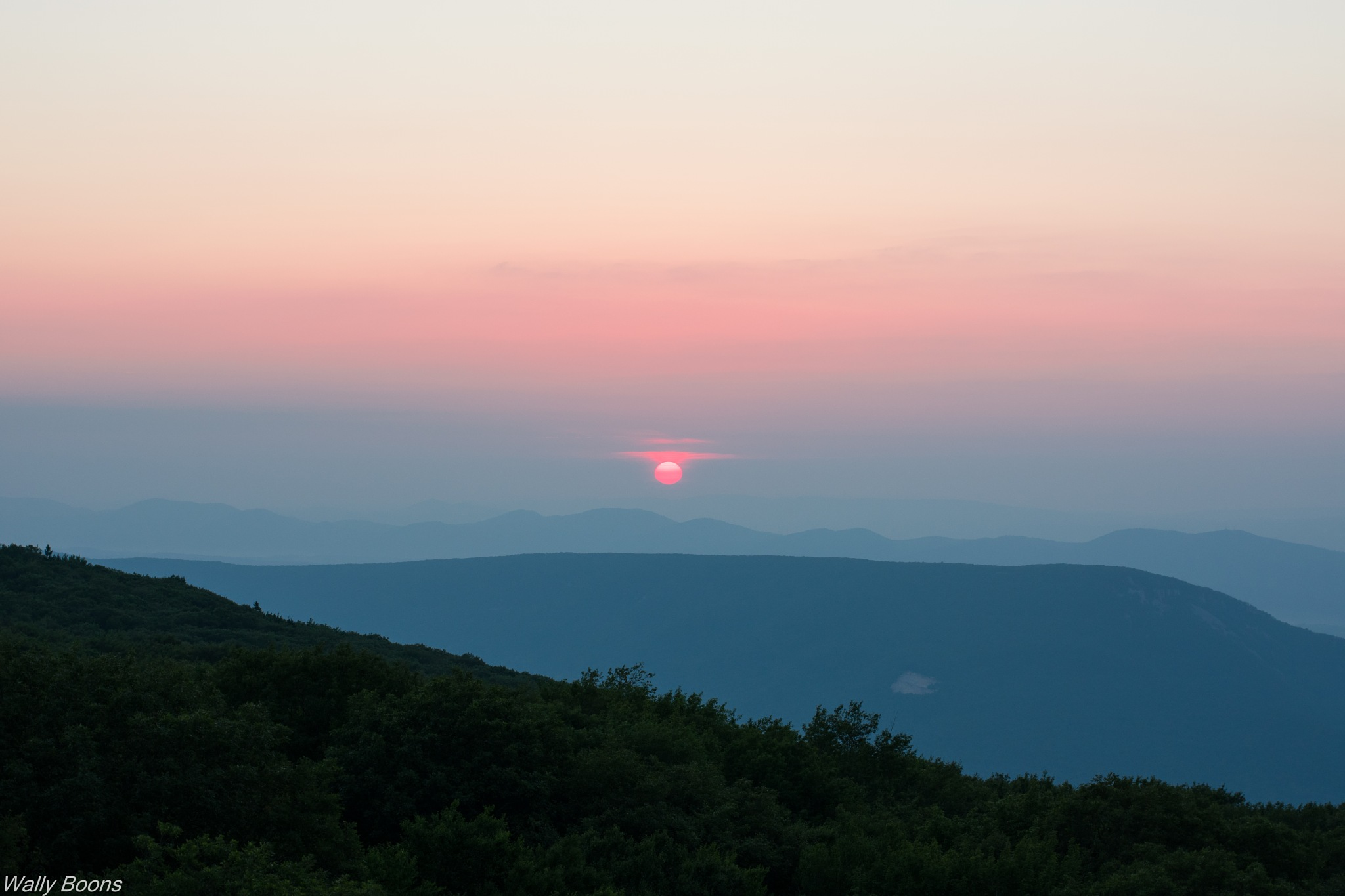 Sunrise view by Wally Boons