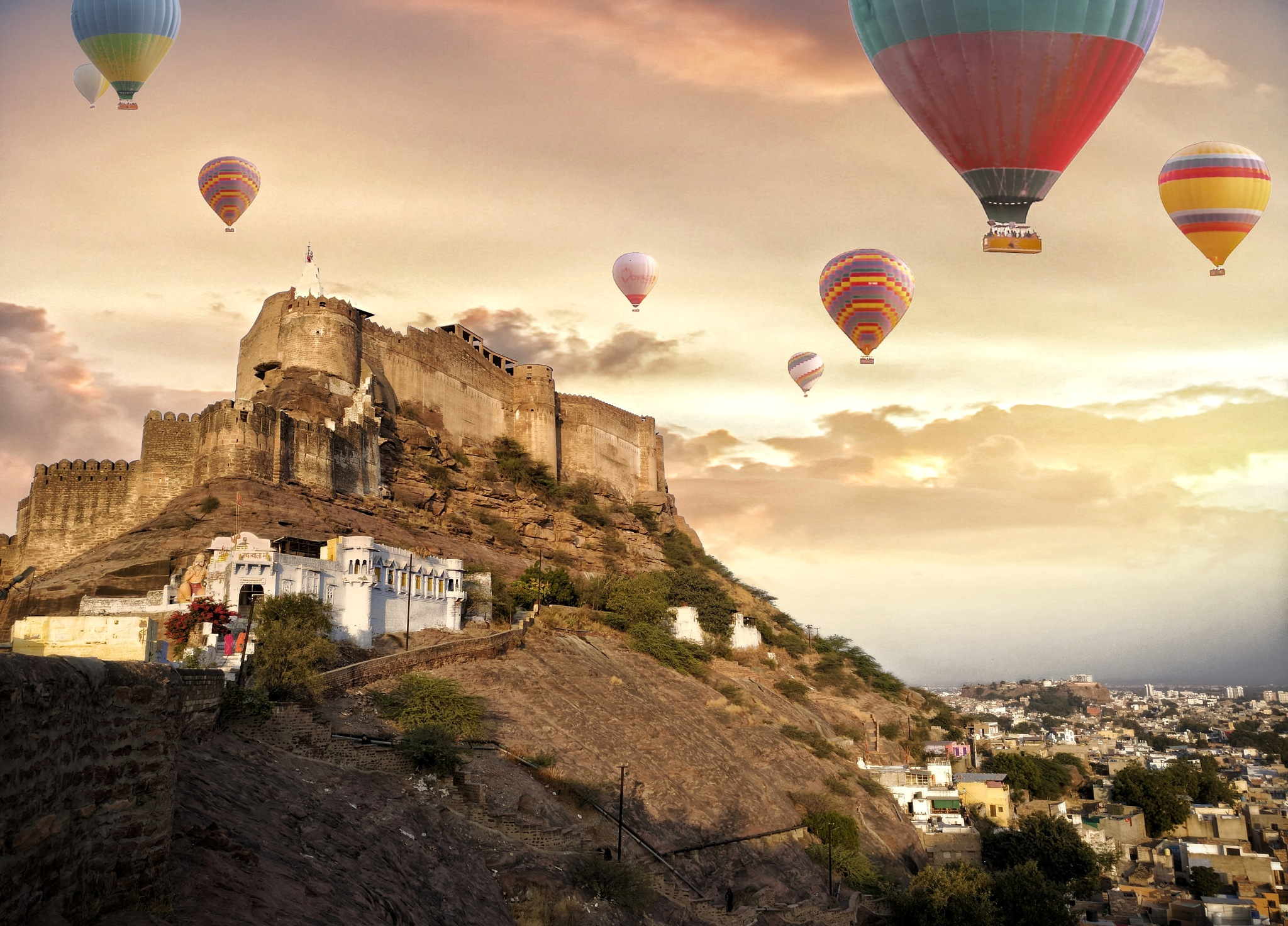 Mehrangarh Fort( lucid dream) by girshhitraj