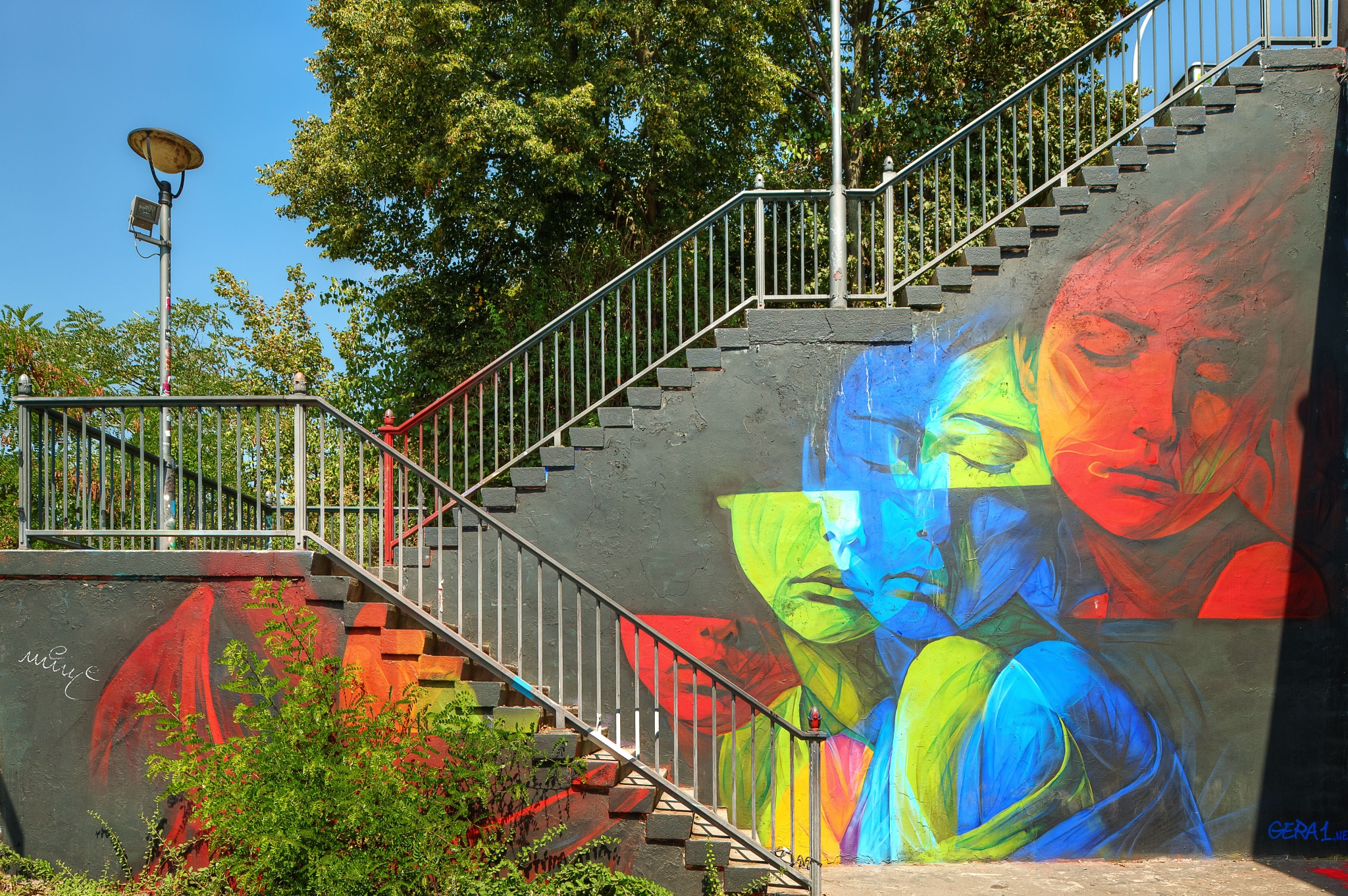 Stairs by Hartmut Ustorf