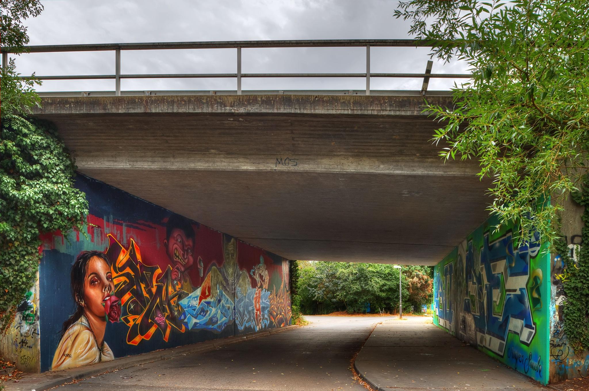 Underpass by Hartmut Ustorf