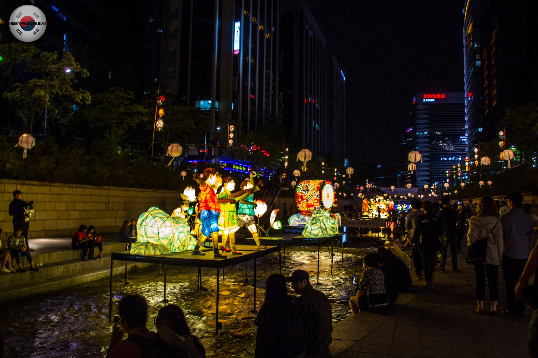 2014 Korean Latern Festival  by Christopher Leslie