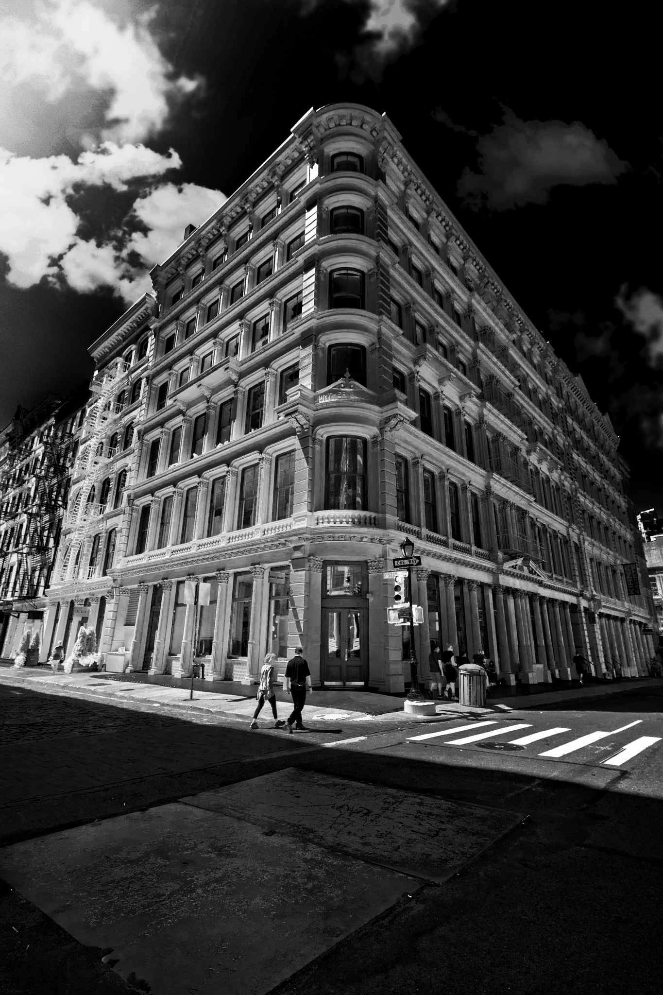 nyc in infrared by Cole McManus