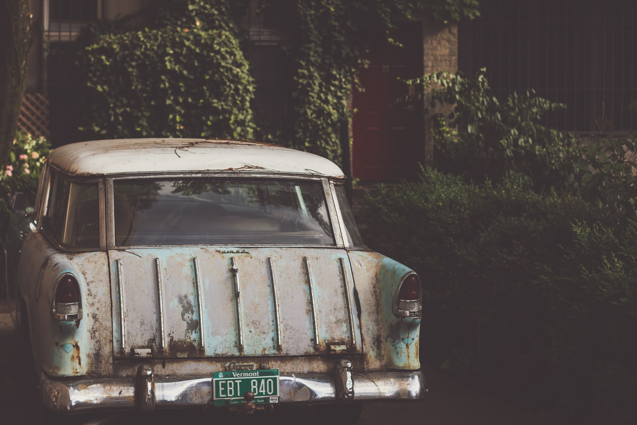 old car new city by Cole McManus
