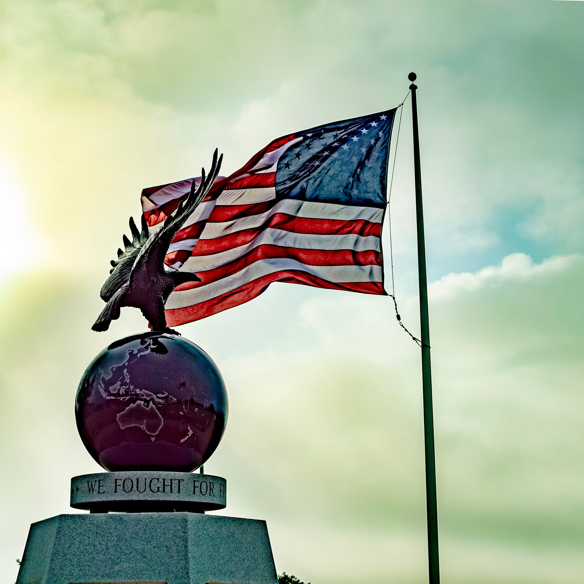 WWII Memorial by Mike Jones