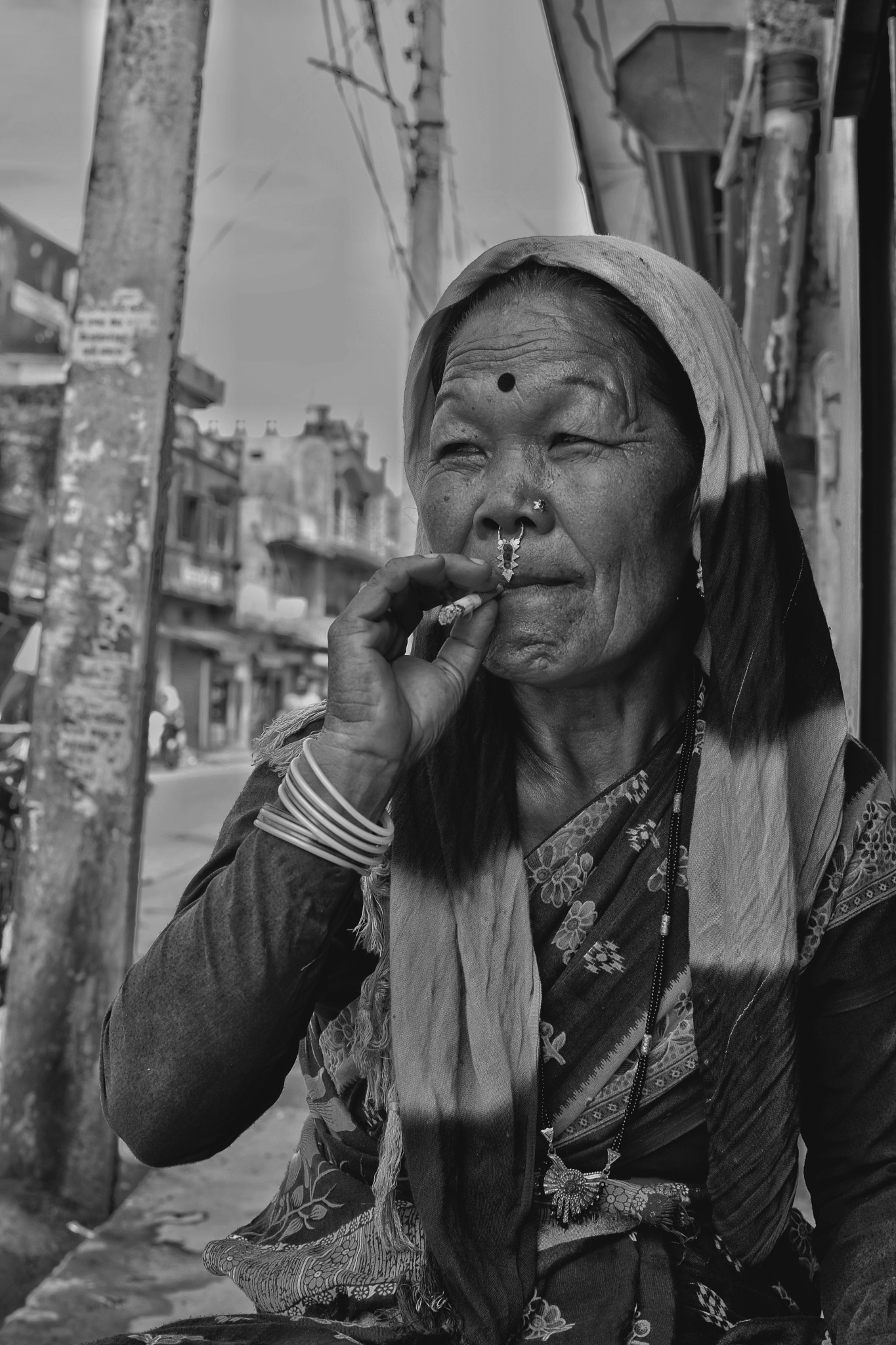 Smoking by Mee Zarger