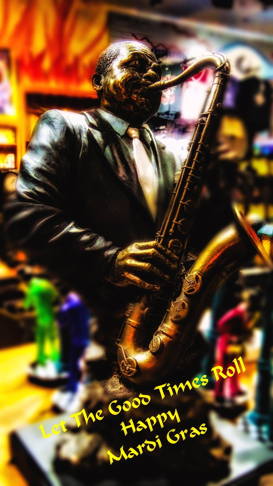 Sax Man by David Walters
