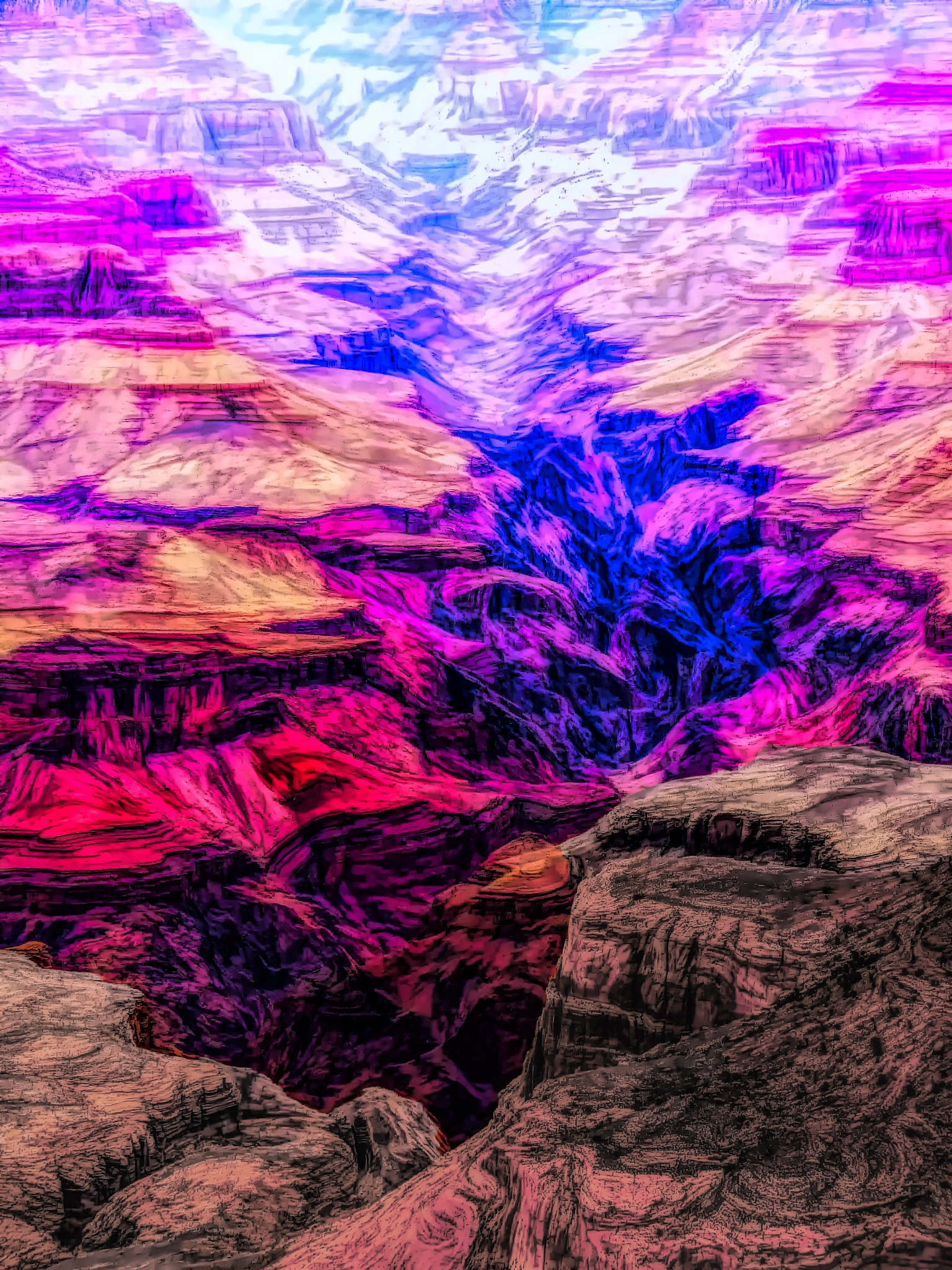 Grand Canyon AM Color by David Walters