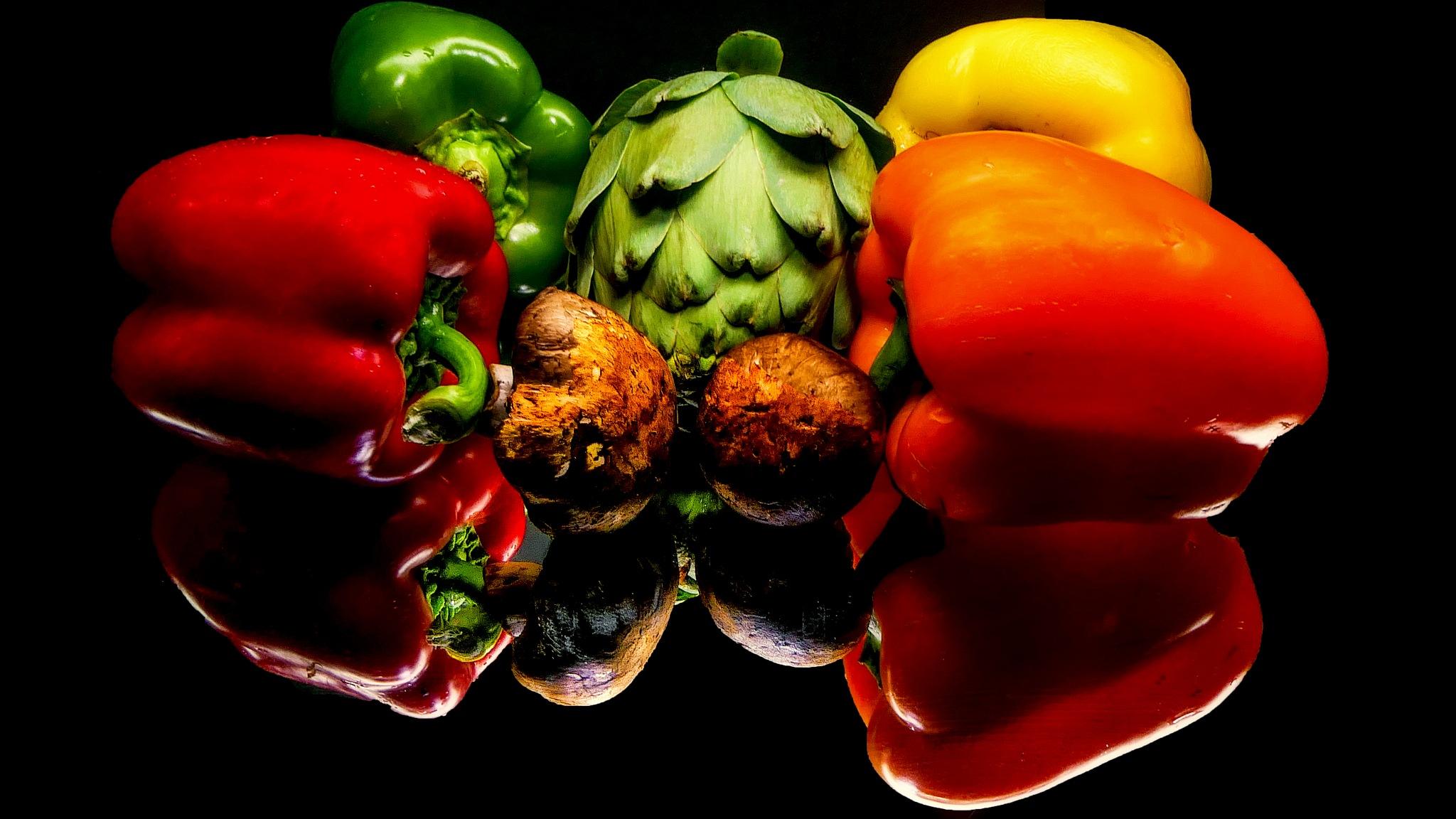 Fresh Veggies by David Walters